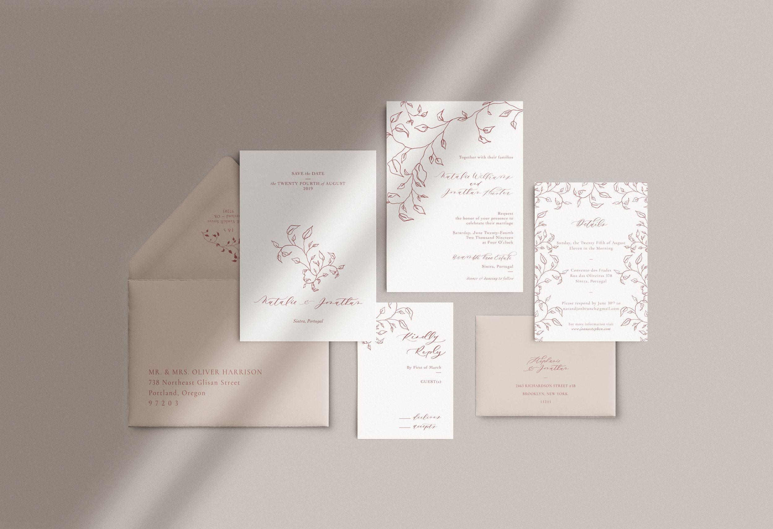 Carta Plena Joana Suite Cards