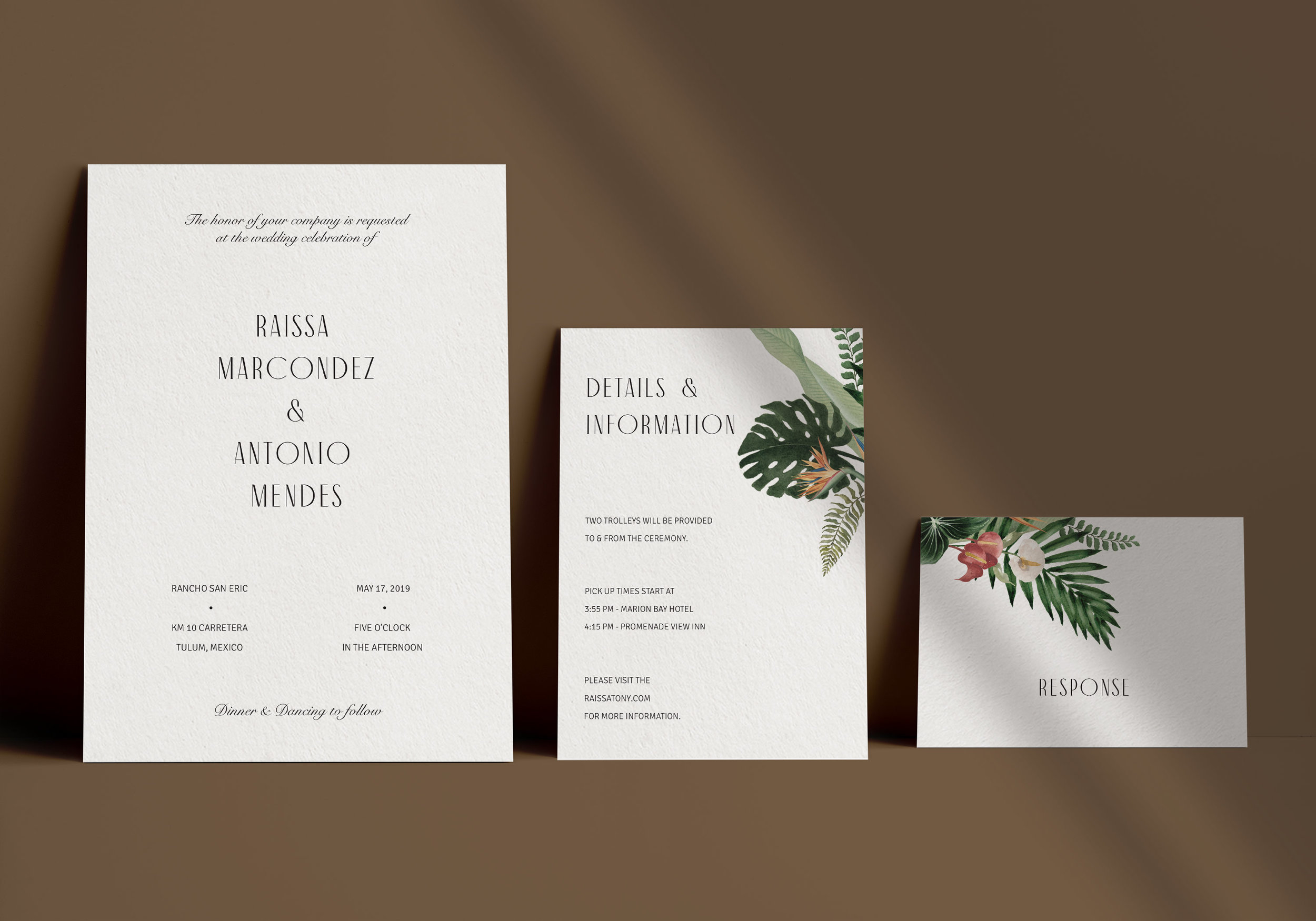 Carta Plena Raissa Suite Cards
