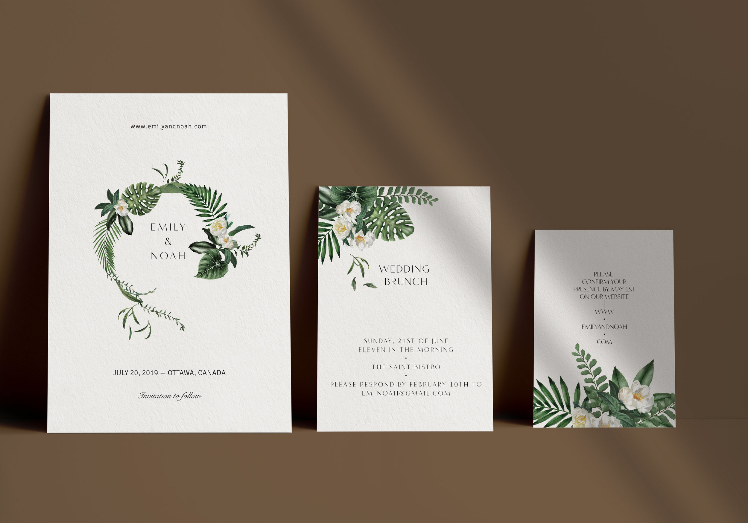 Carta Plena Emily Suite Cards