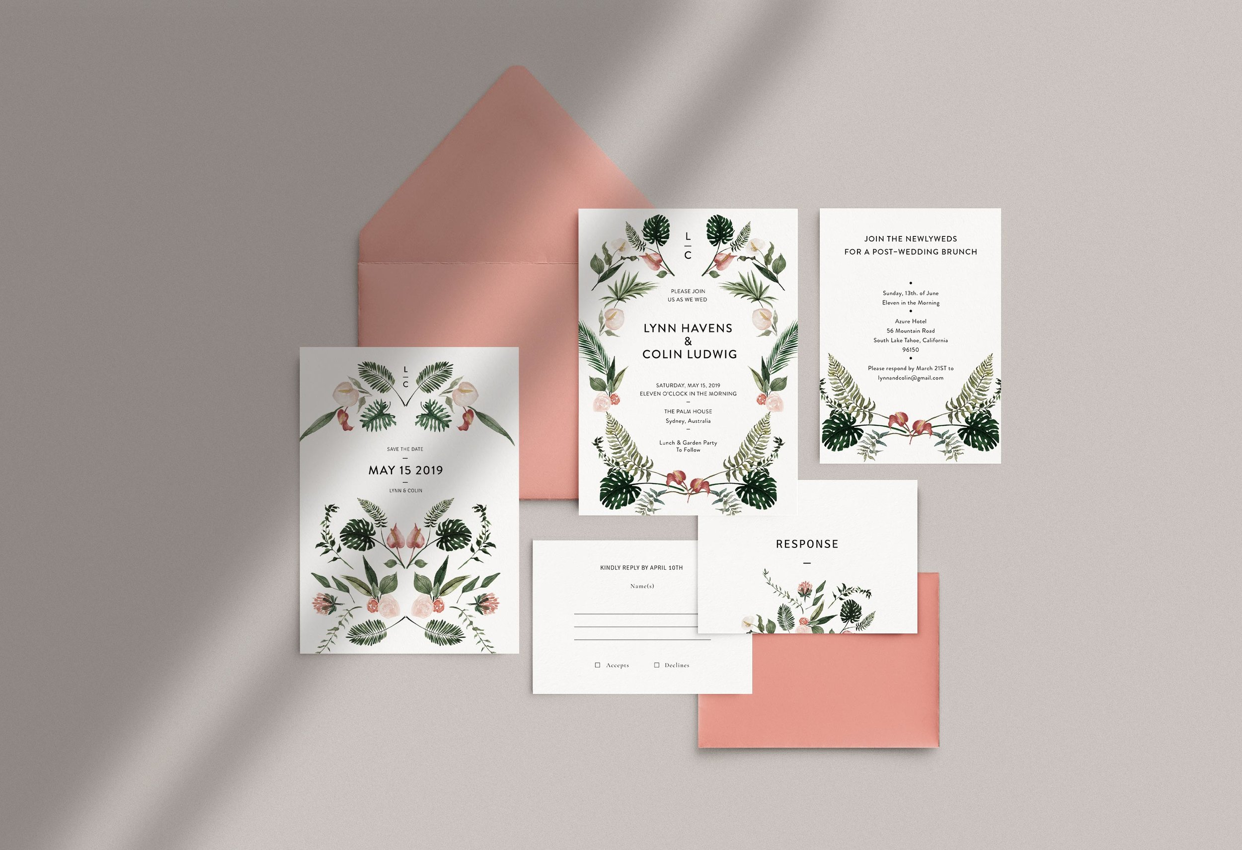 Carta Plena Lynn Suite Cards