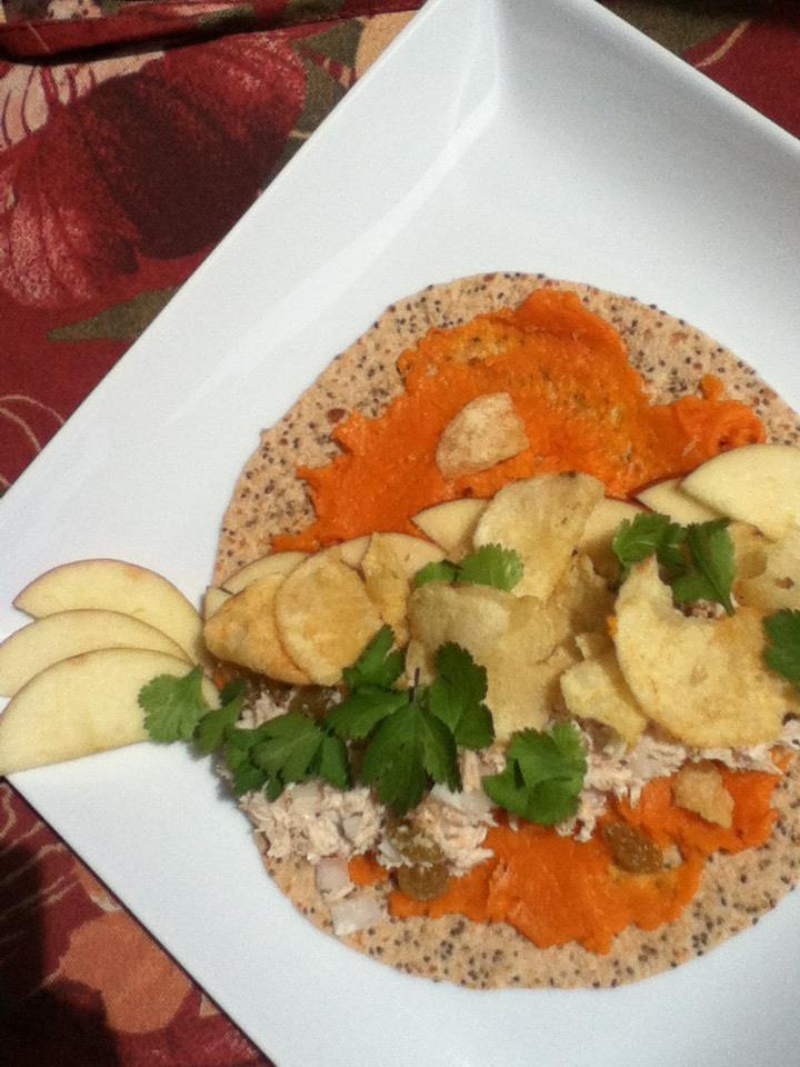 White fish, sweet potato, pear wrap.jpg