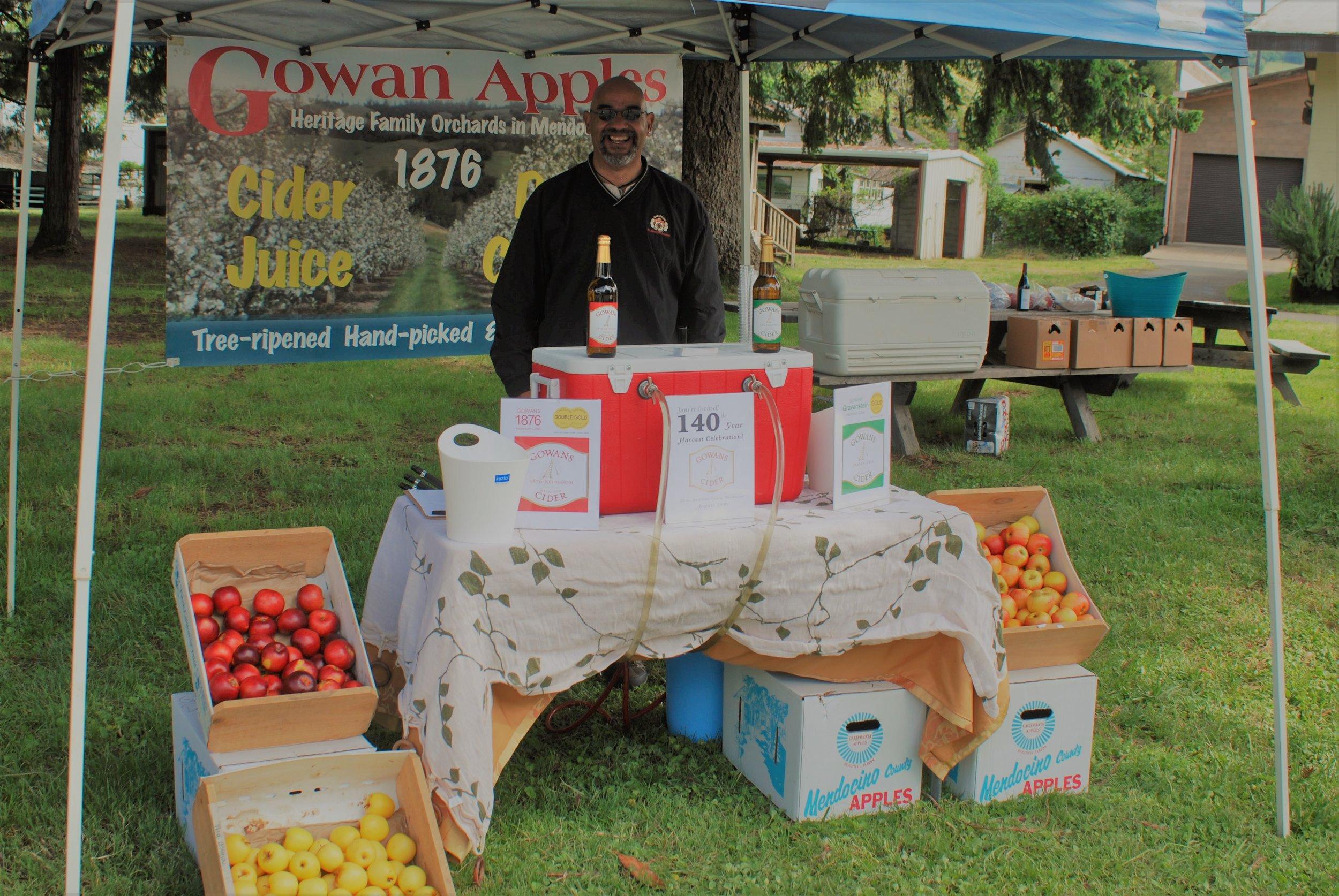 Gowan Apples-Cider
