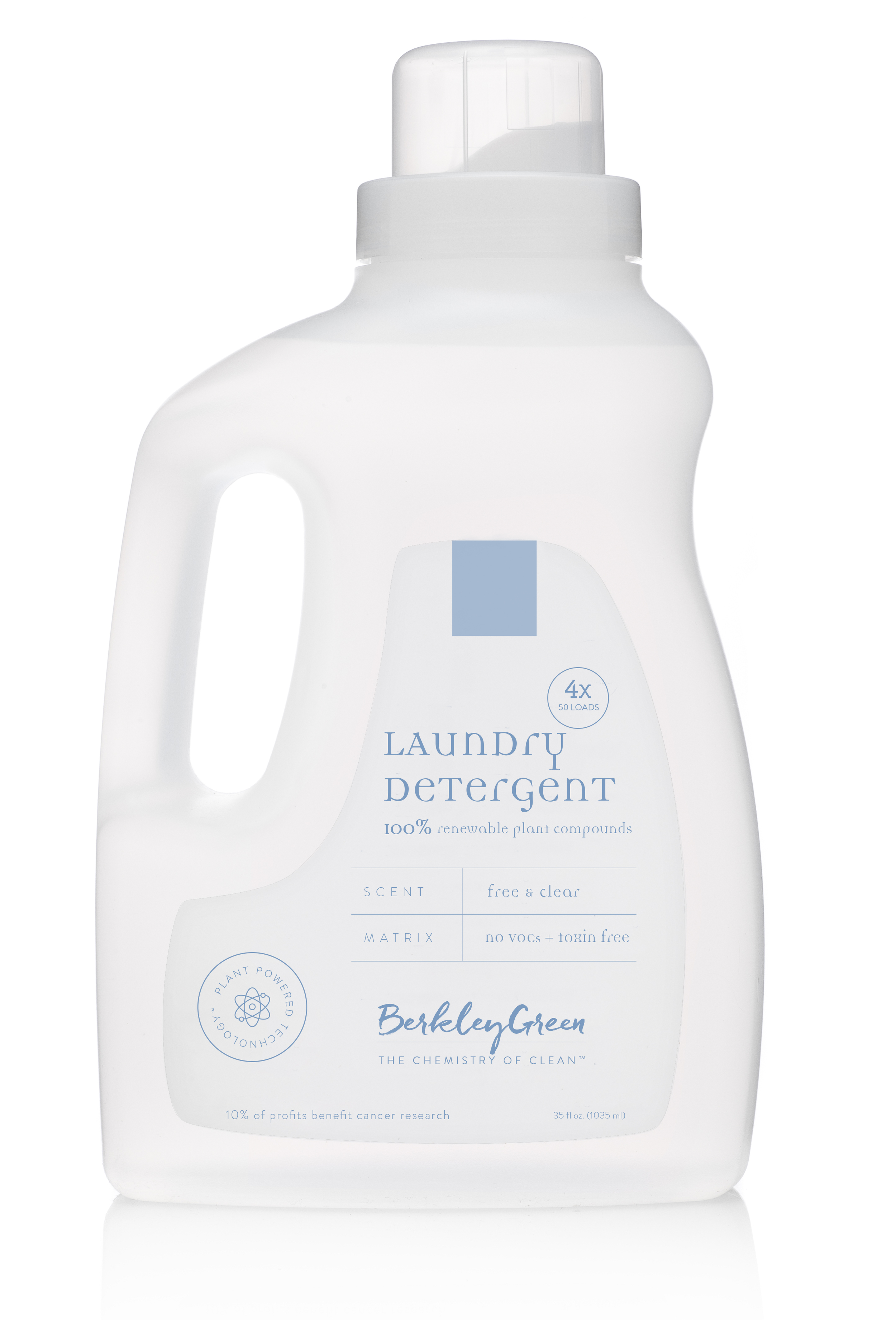 4x Free & Clear Laundry Detergent