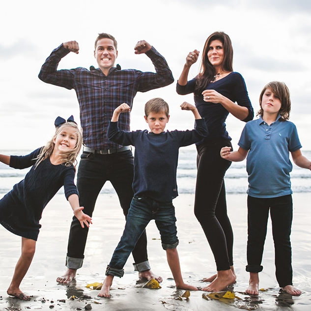 Brandon, Ginny, Georgia, Conner & Austin Hawk // Super Family