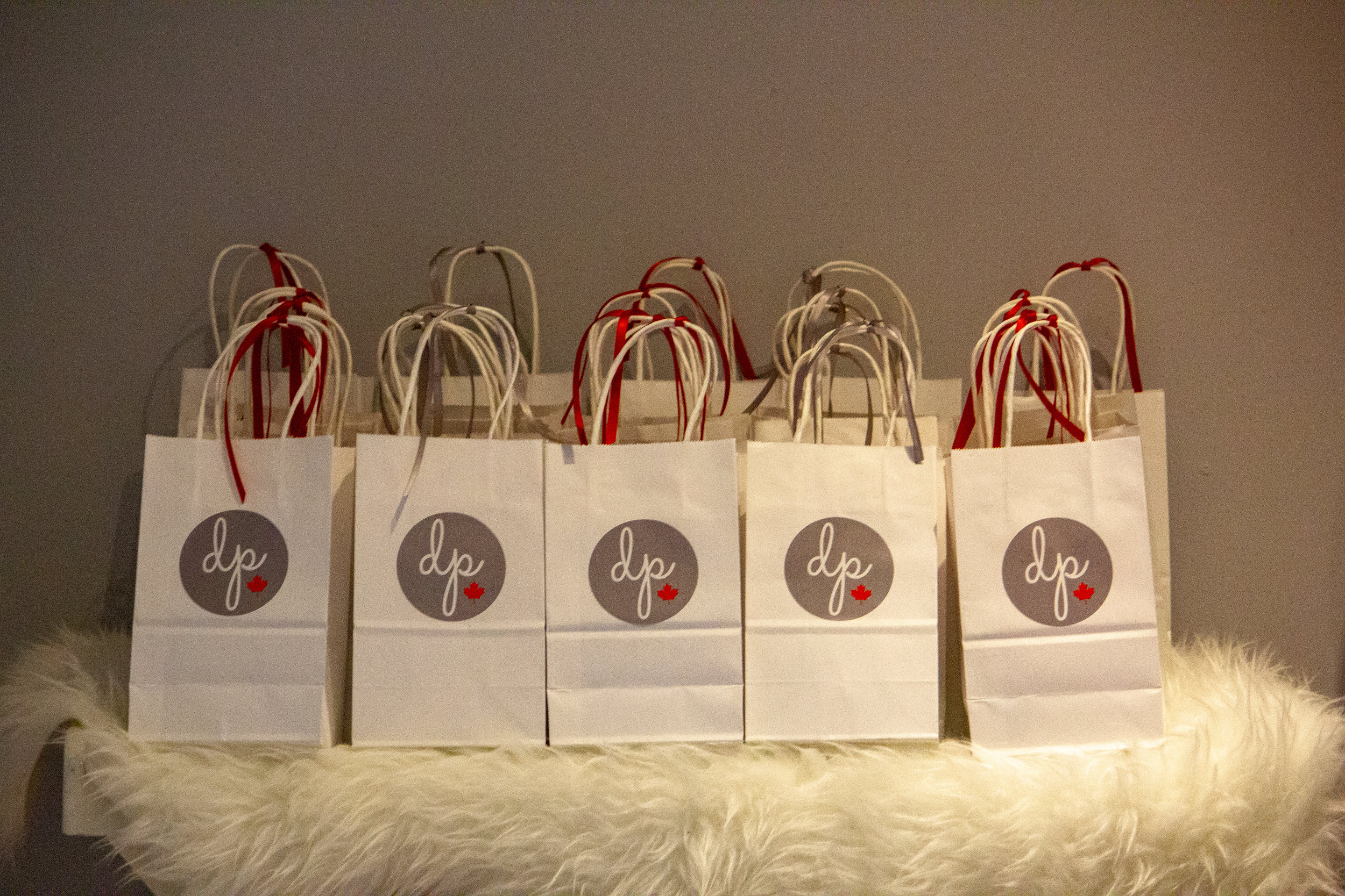 Gift bags for all ticket holders