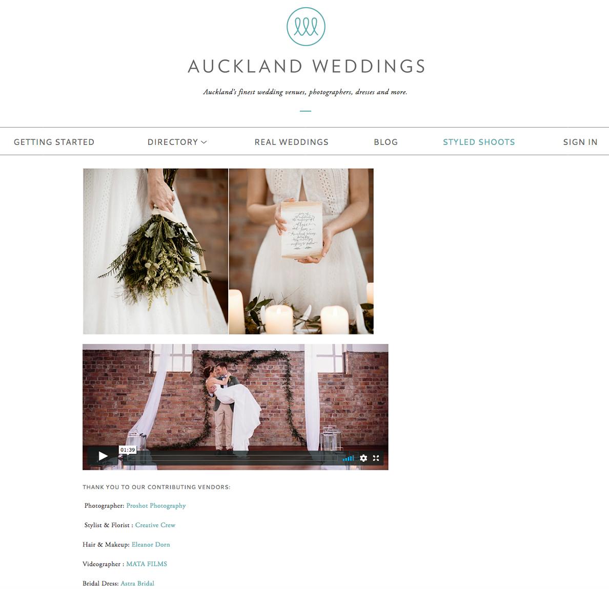 Read full article here  https://www.aucklandweddings.co.nz/urban-romance-styled-shoot