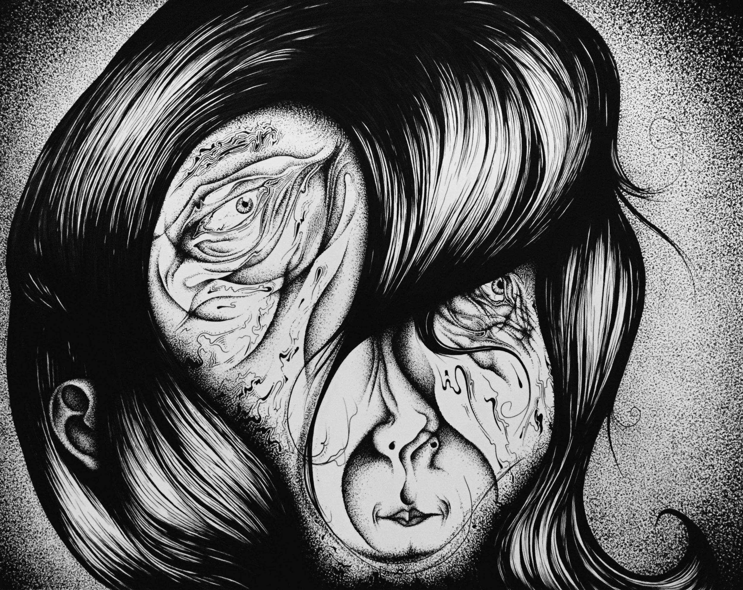 Woman in Hair 3