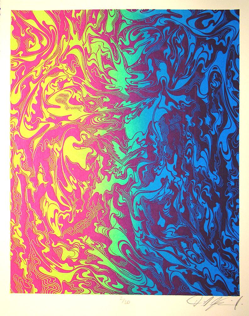 Squiggly Rainbow