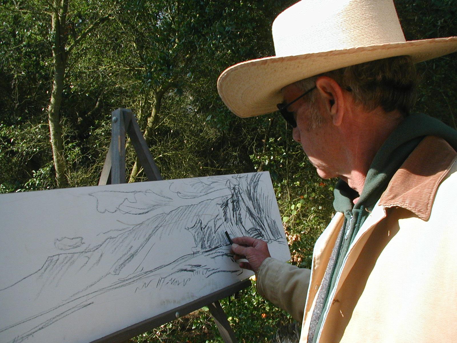 Larry Iwerks, Landscape Painter