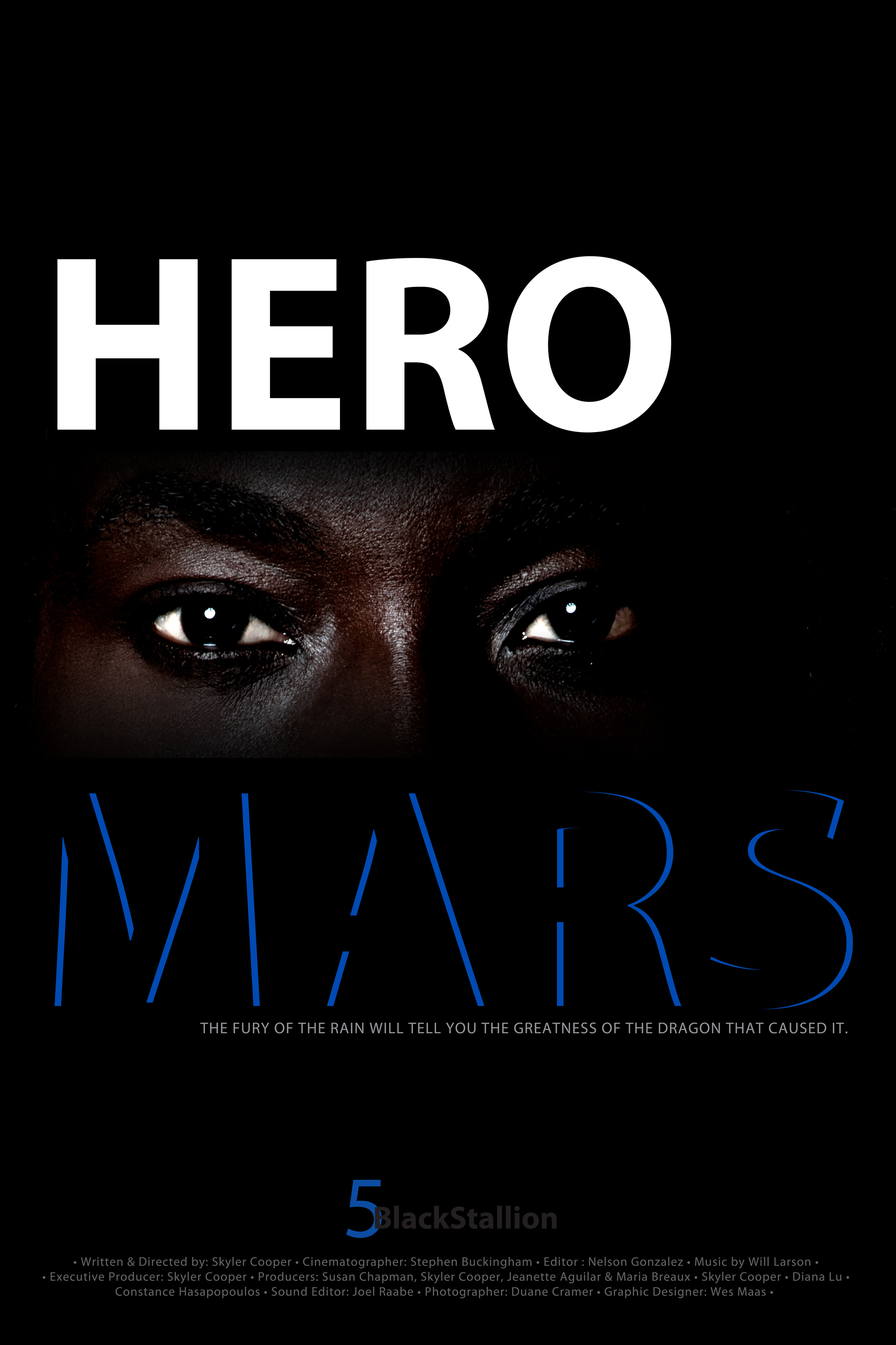 Hero Mars Movie Poster