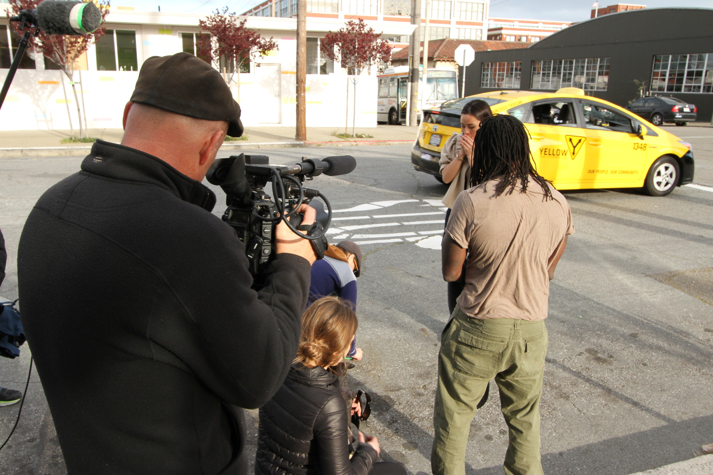 Behind the scenes HM 6 Skyler, Stephen Buckingham, Assitant cameraman Avery Hudson, Actor Diana Lu.jpg