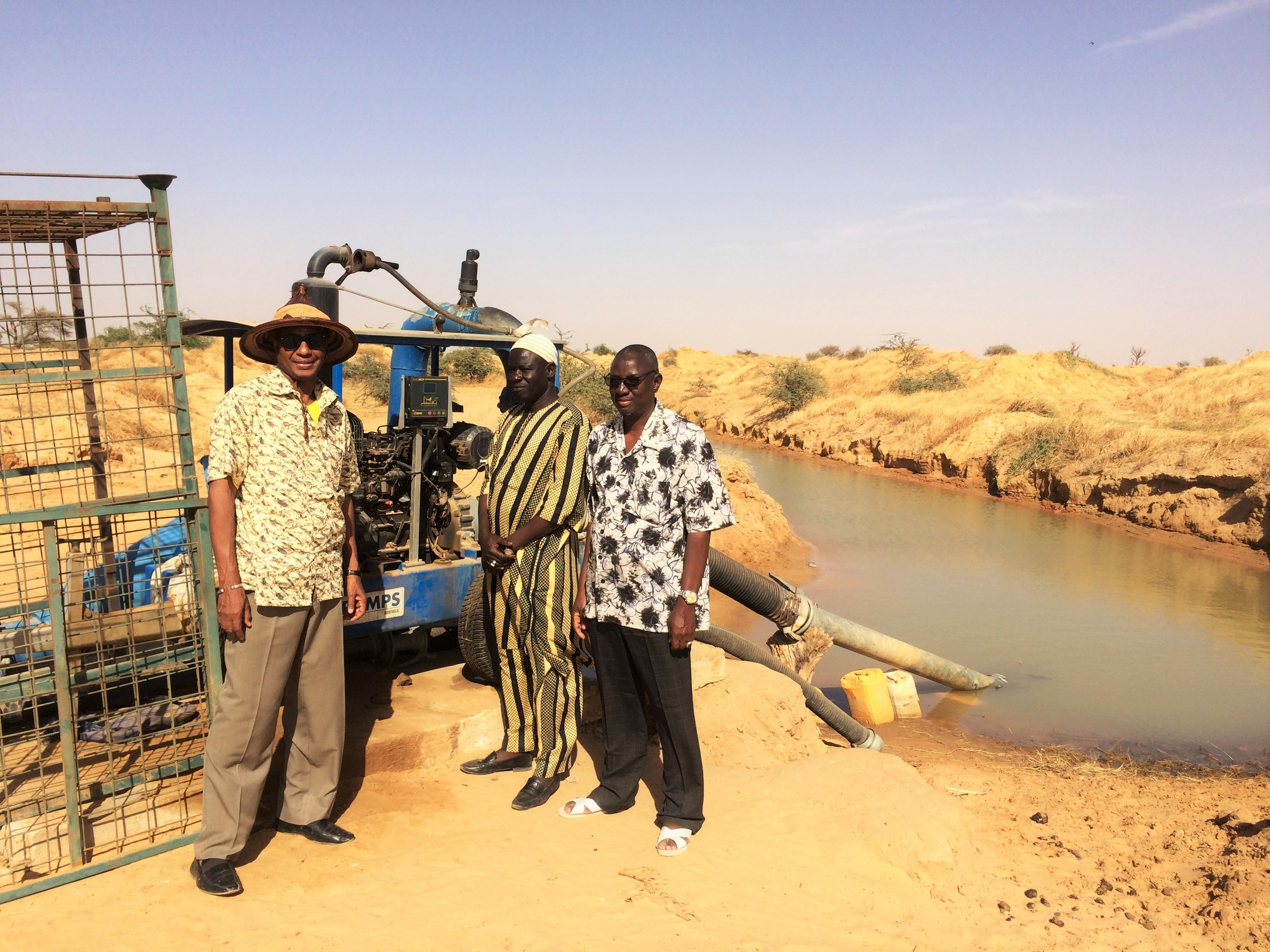 """The project funded by USADF allowed us to believe in our dreams of seeing the cultivation of the stretch of dry land,"" said Amadou Kane, a member of Thilene"