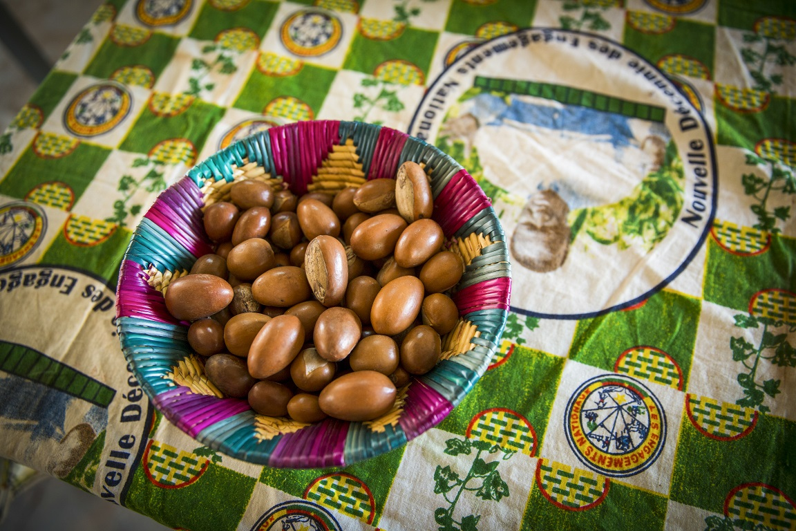 In 2014, AGOA exports totaled over $26 billion.  USADF encourages smallholder farmers to participate in AGOA trade and tap into niche markets, such as organic shea butter made from shea nuts (above).