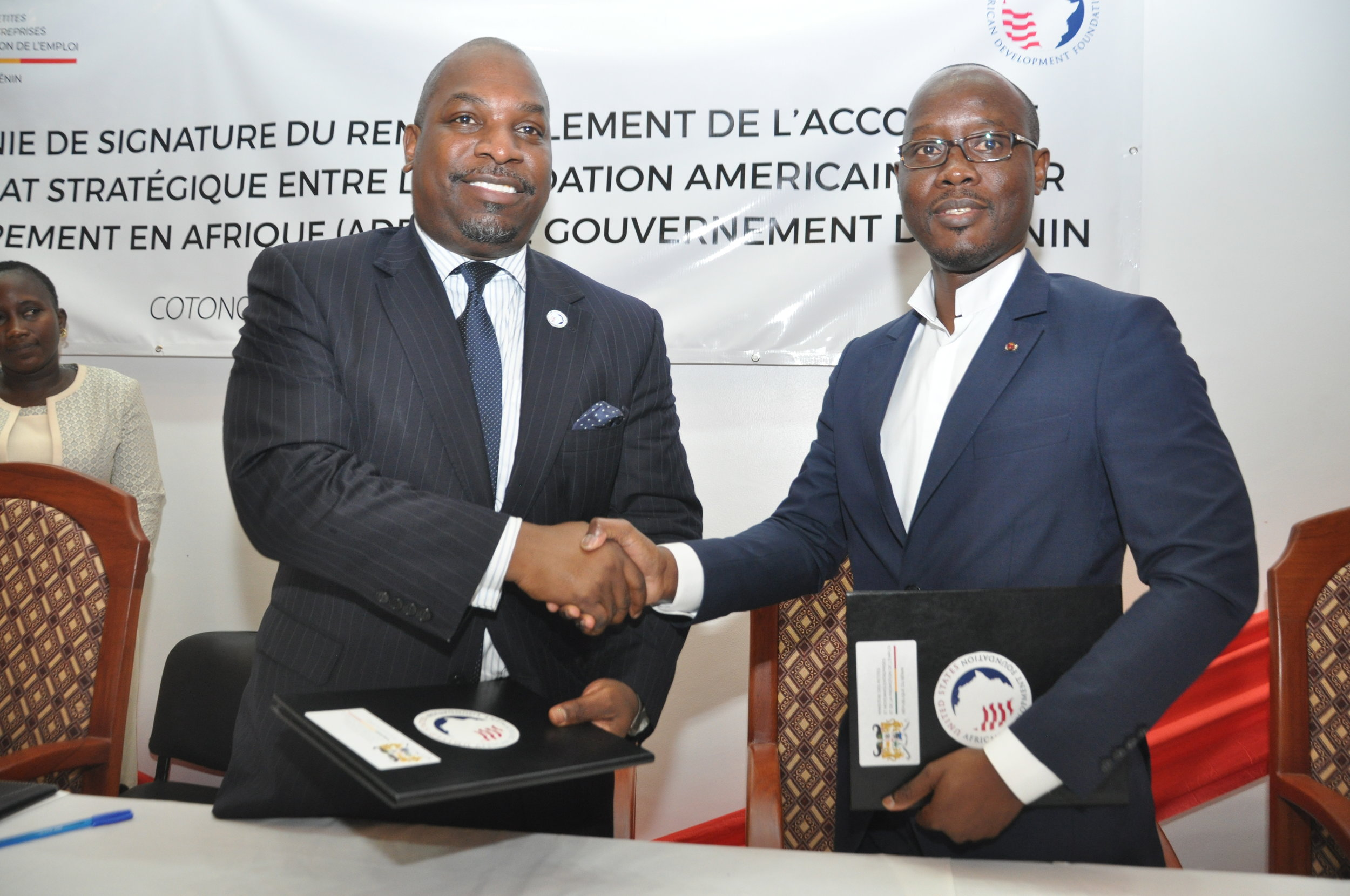 The U.S. African Development Foundation (USADF) and the Government of Benin doubled their commitment to local enterprise development in Benin, resulting in a $10 million co-funding agreement.