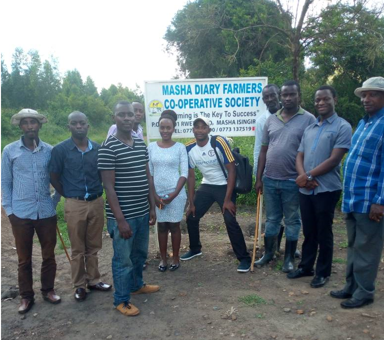 Members of Masha Dairy Farmers cooperative are able to expand their operations thanks to a new line of credit from Patasente, a USADF grantee.