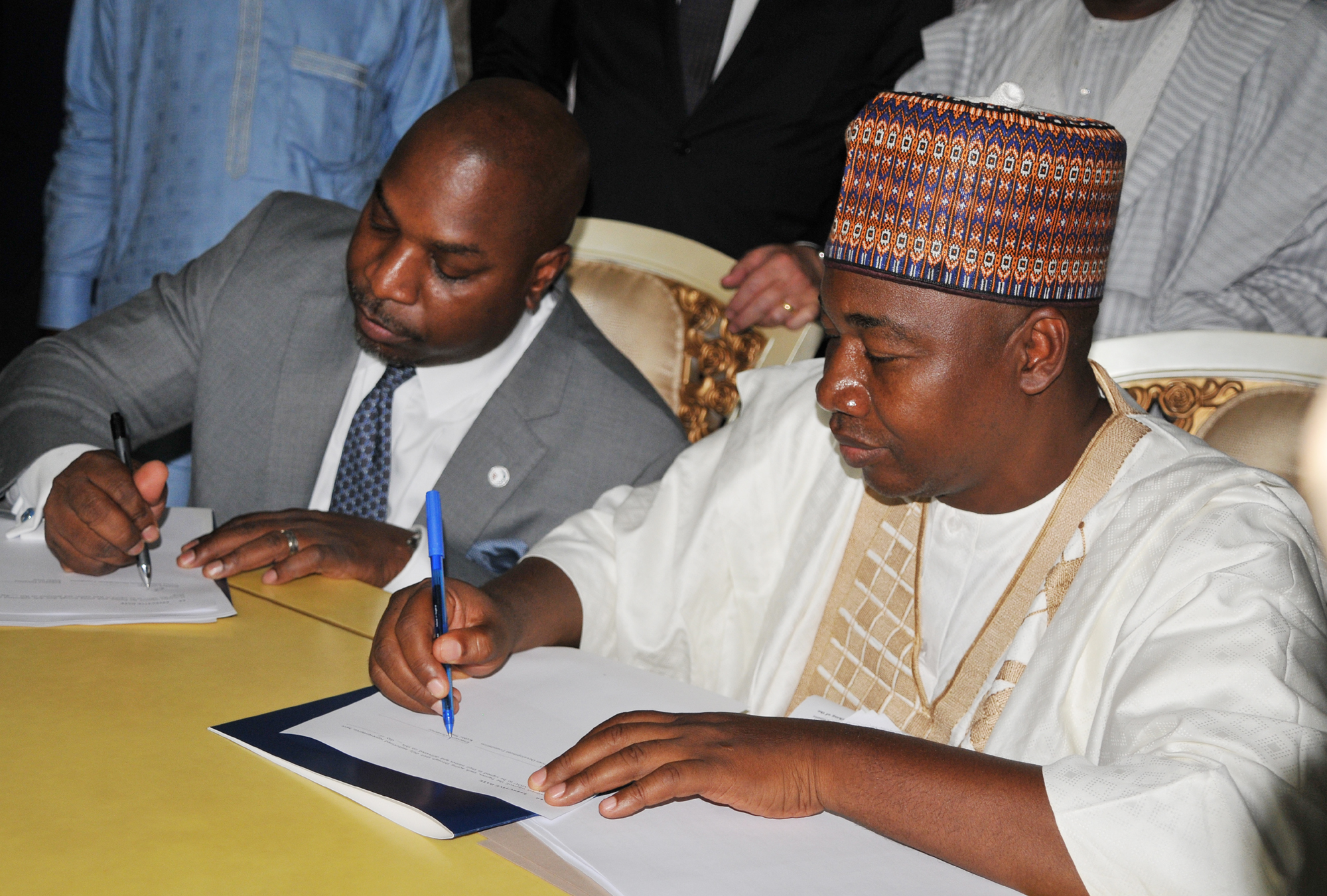The President & CEO of U.S. African Development Foundation (USADF) and the Governor of Kebbi State, Nigeria signed a 5-year, $10 million dollar Memorandum of Understanding (MOU).