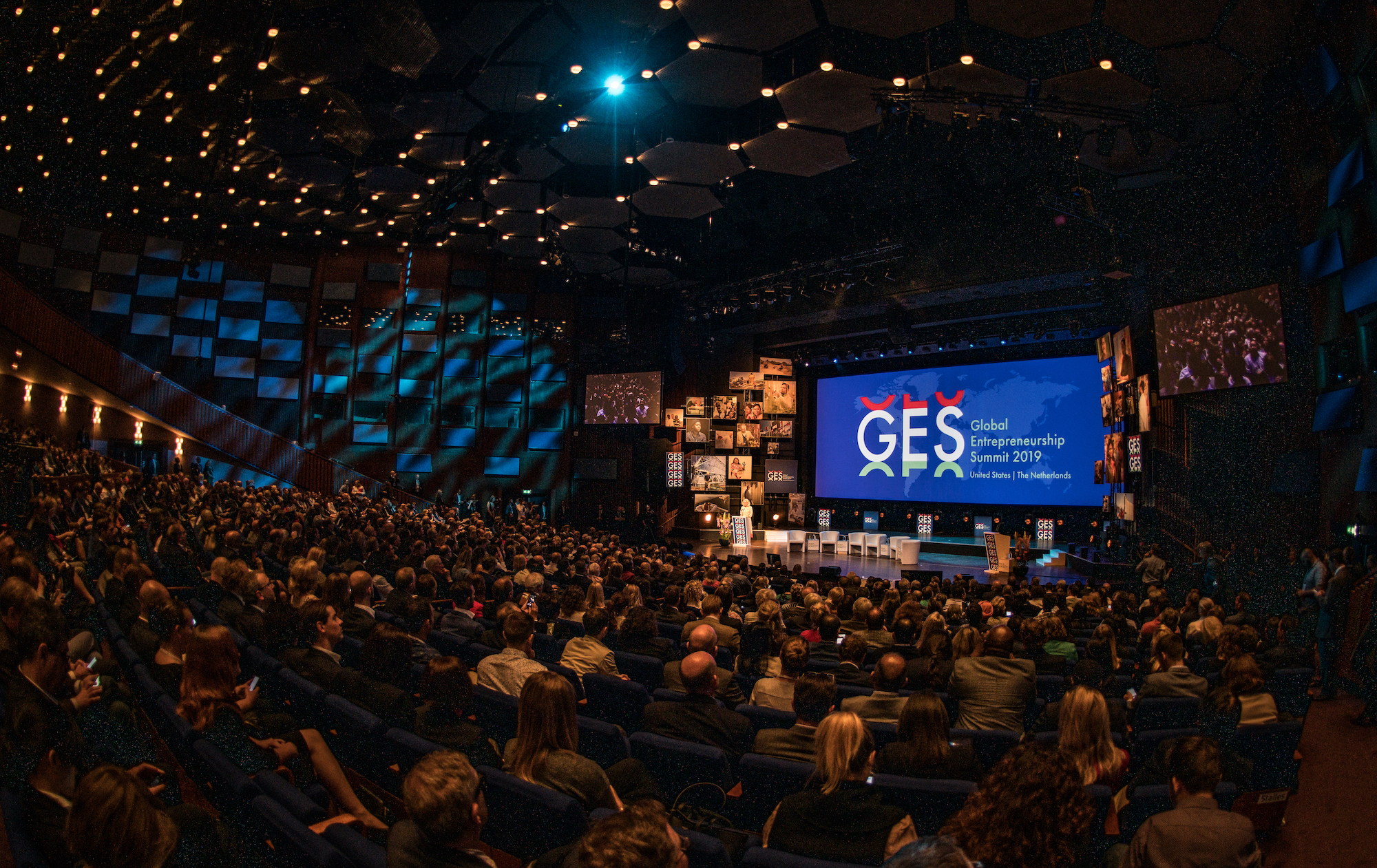 The 2019 Global Entrepreneurship Summit took place June 3-5 in The Hague, Netherlands with attendees from 140 countries (photo credit: Paul Barendregt / GES 2019).