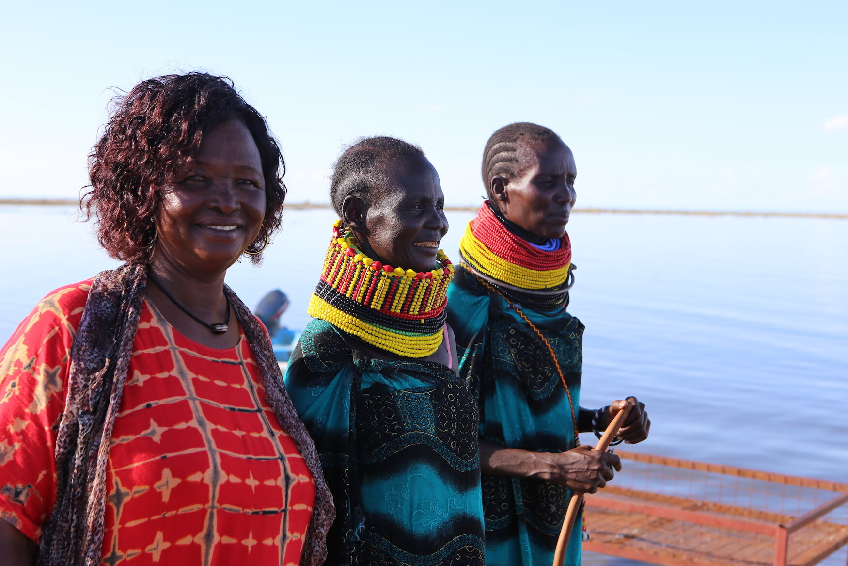 The women of Naremiet Beach Management Unit at Lake Turkana are the lifeline of the local fishing industry.