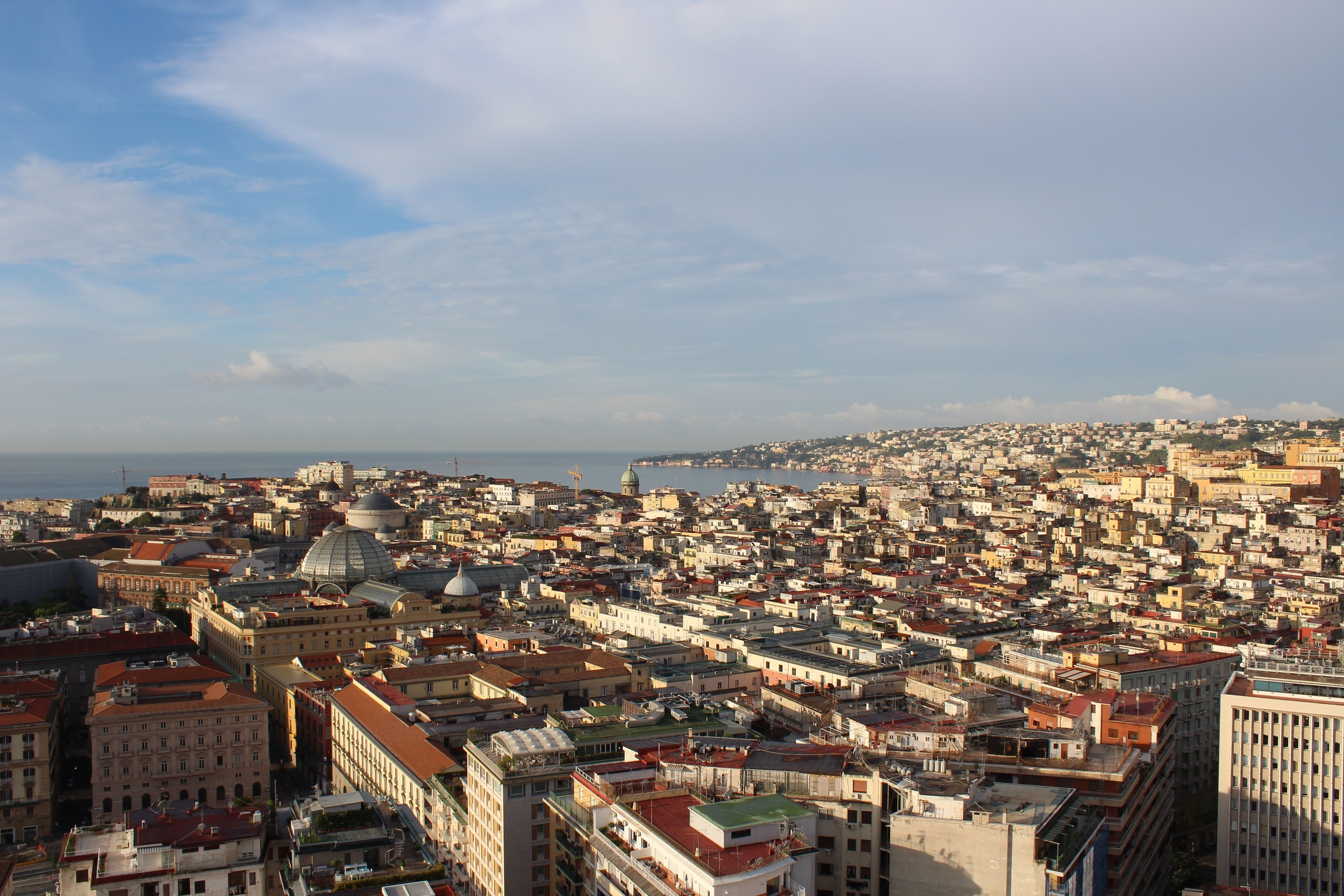 A view over the Bay of Naples.