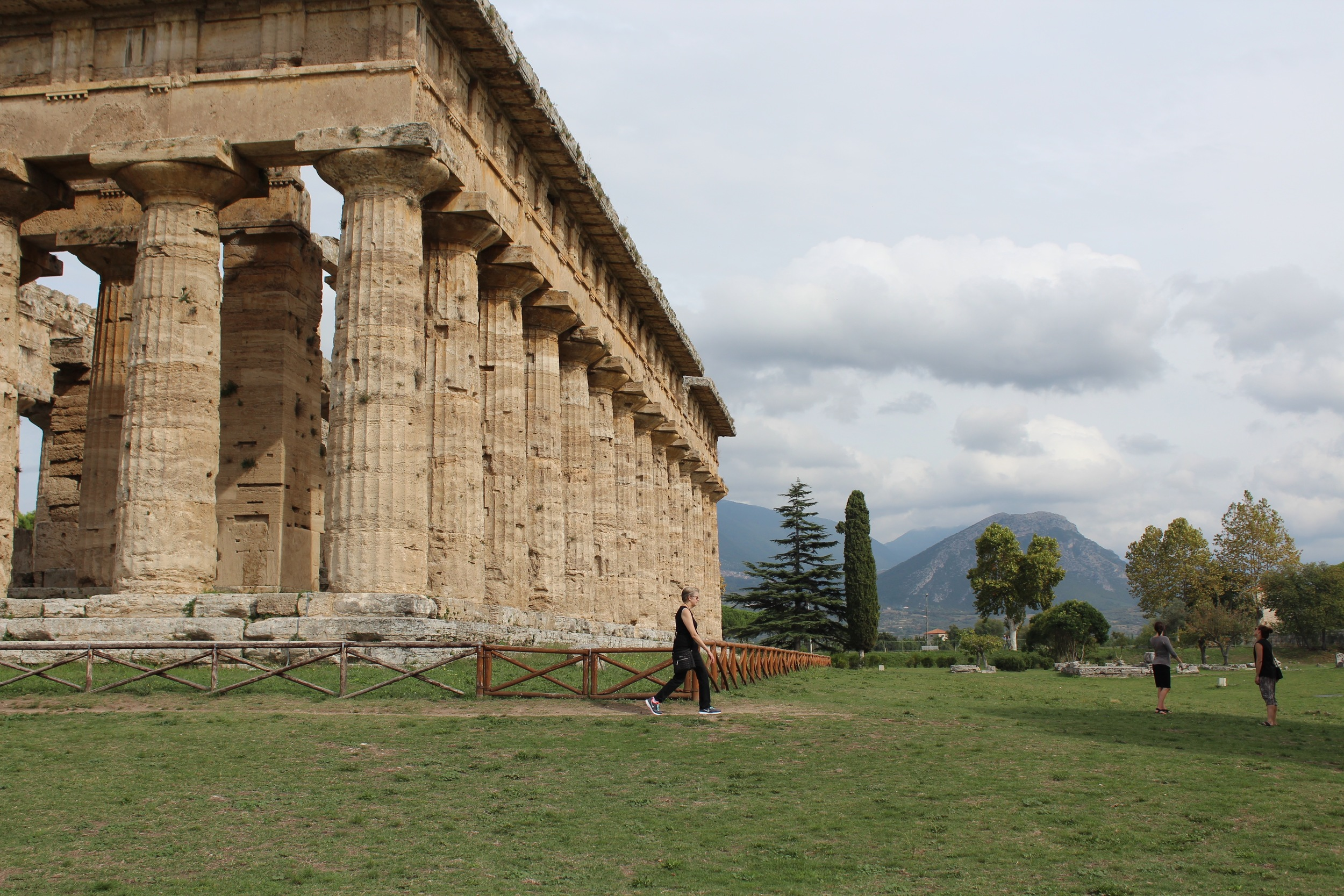 The 6th century BCE temple complex at Paestum