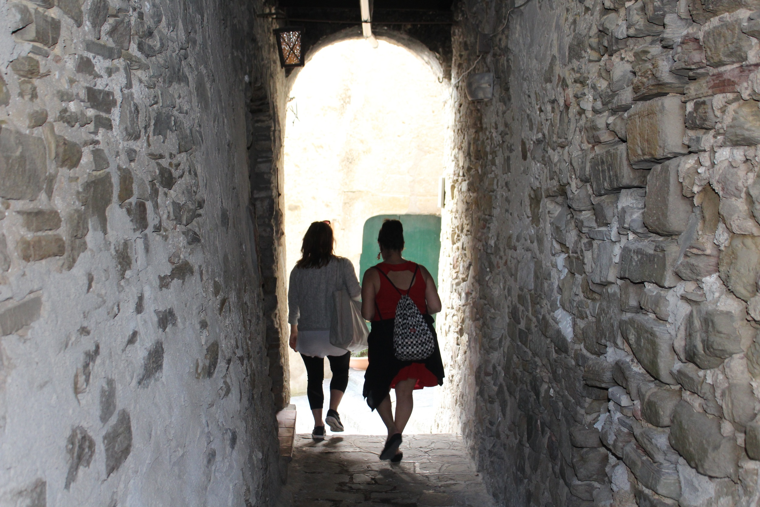 Exploring the medieval streets of Borgo Castellabate