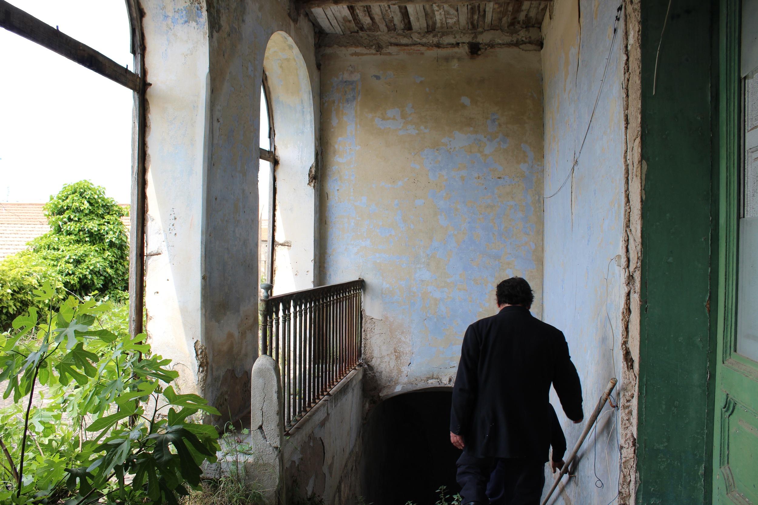 Corridor of Palazzo Bellelli Photo credit: Danielle Oteri