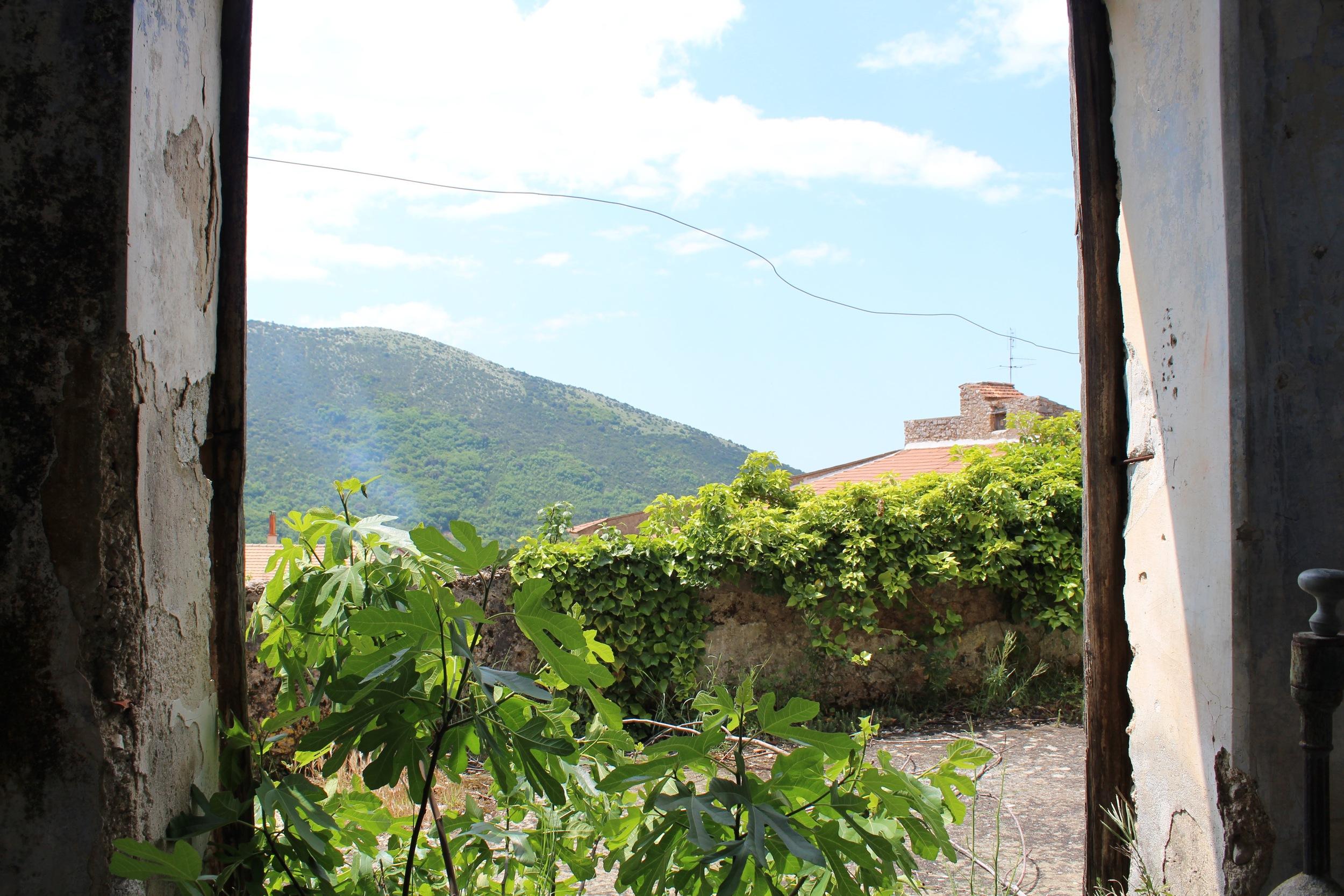 The gardens and orchard outside Palazzo Bellelli Photo credit: Danielle Oteri
