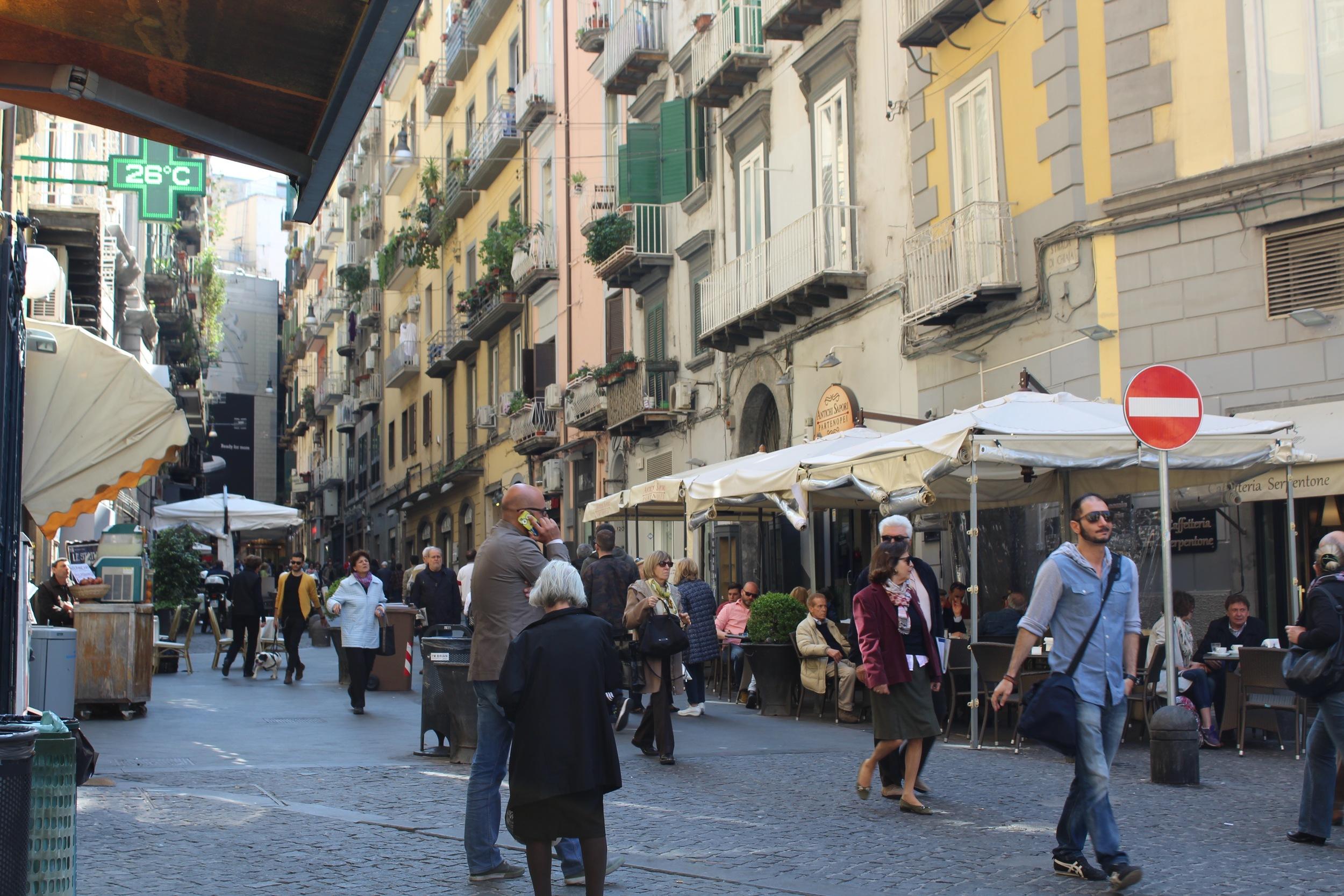 Via Chiaia Naples