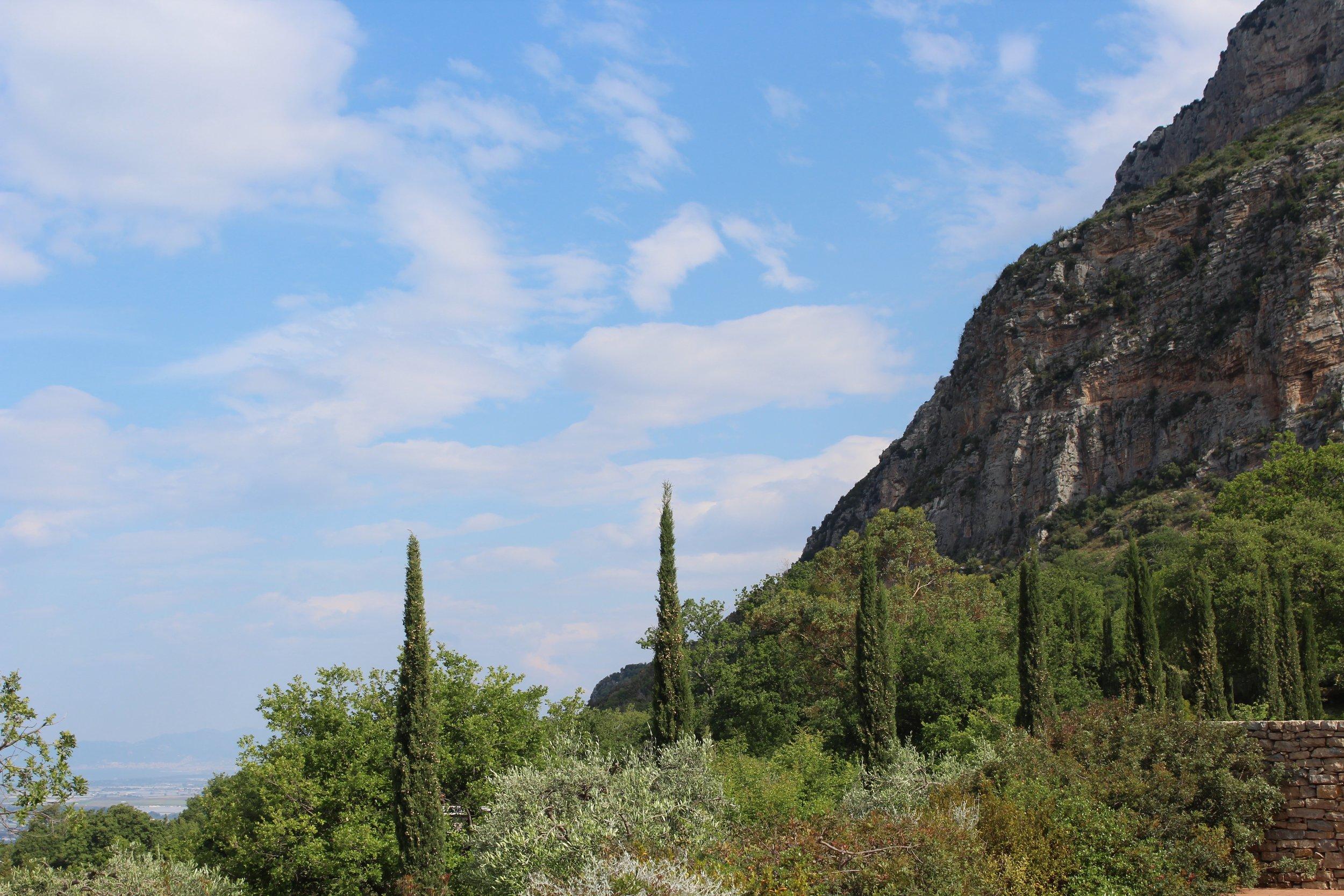 Monte Calpazio from Borgo La Pietraia
