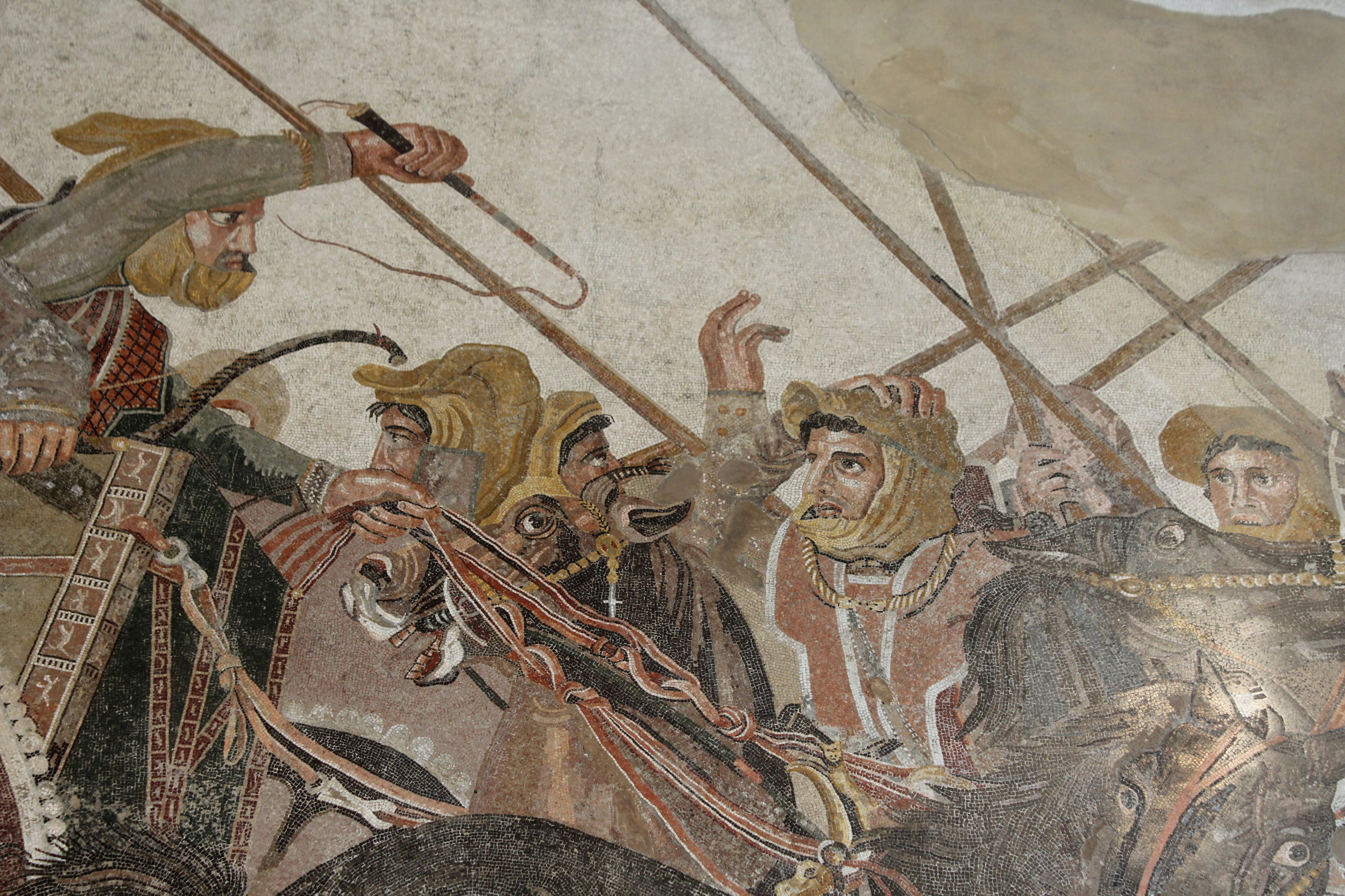 Alexander Mosaic at the Archaeological Museum