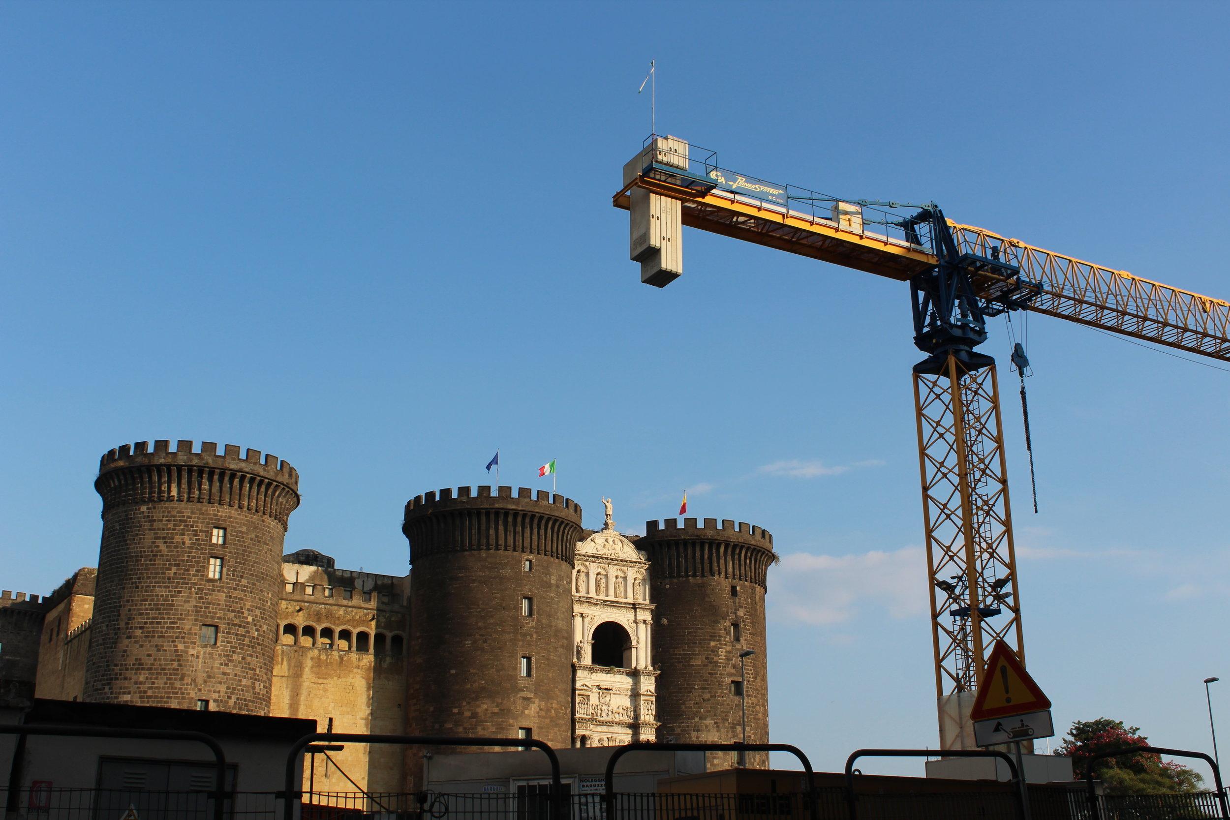 Castel Nuovo or Maschio Angoino