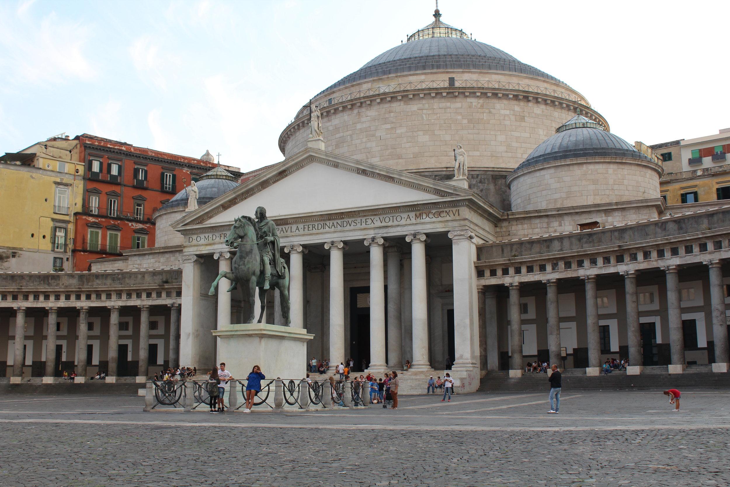 Piazza dei Plebiscito