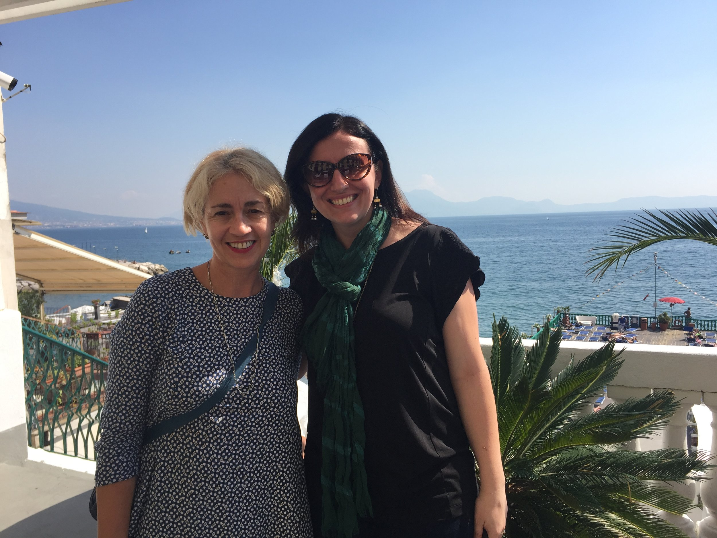 Danielle Oteri & Francesca Sinaschalchi