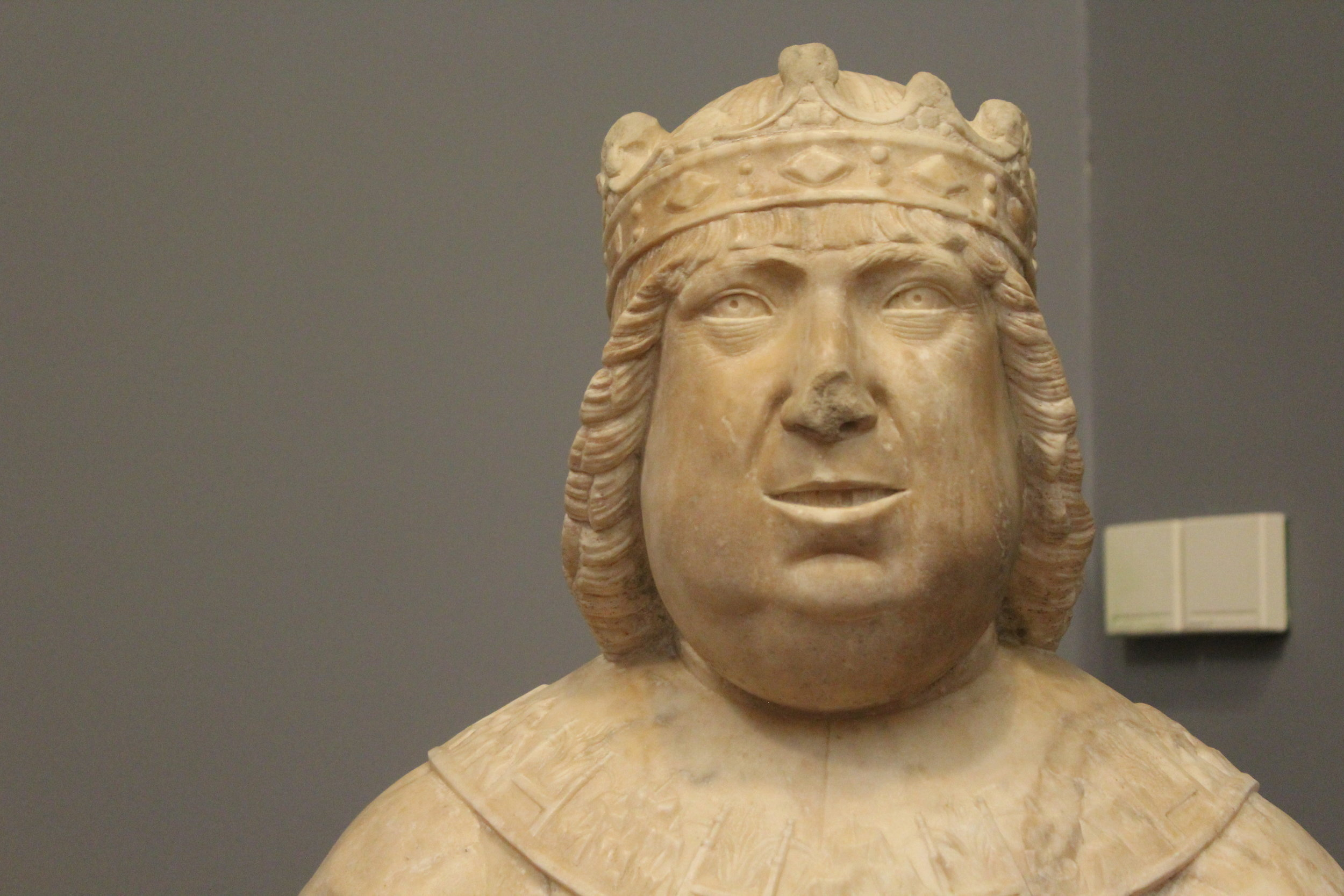 Bust of King Ferrante of Naples