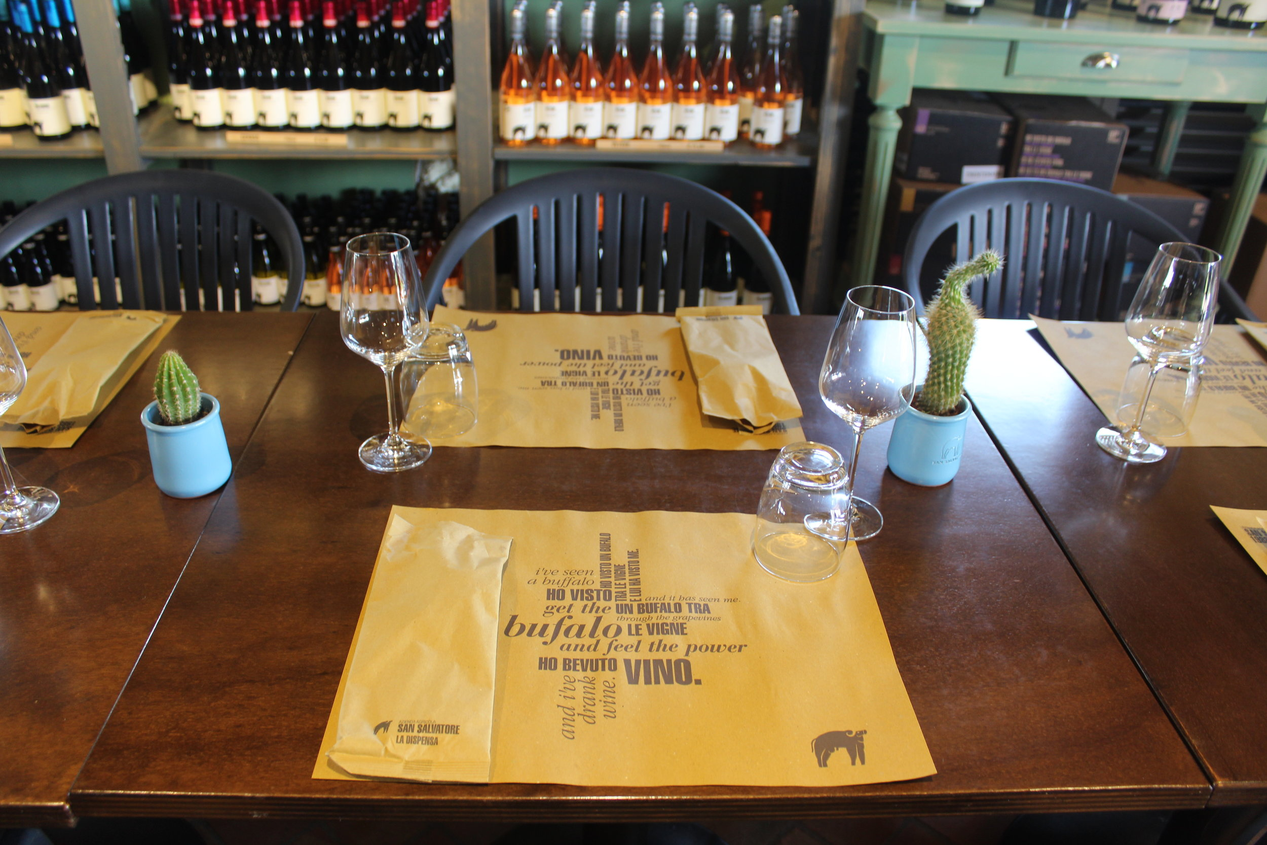 Lunch at San Salvatore includes all their own organic and biodynamic olive oil, produce, herbs and wine.
