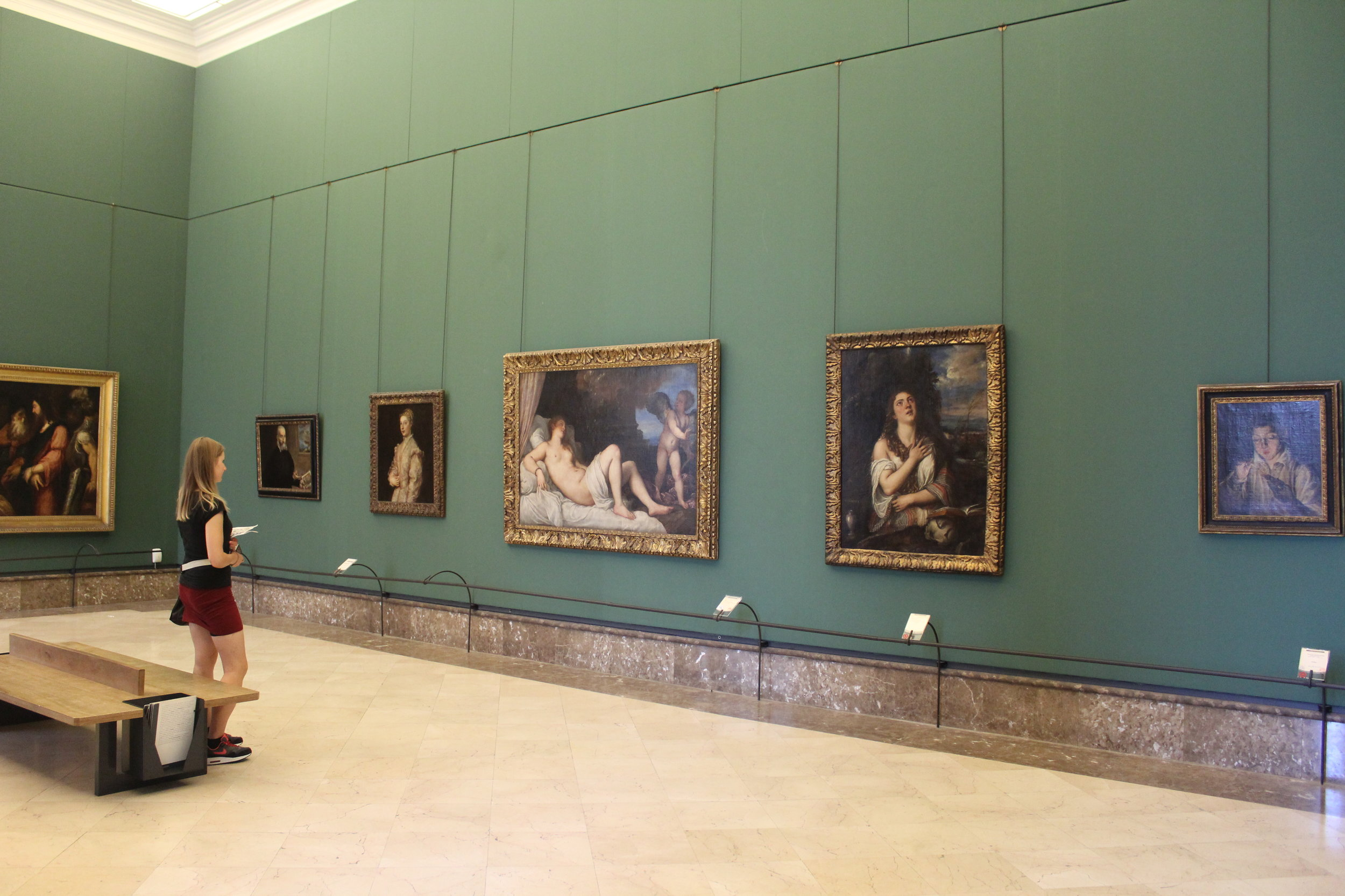 """Titian's """"Danae"""", one of the most famous paintings of the Italian Renaissance belongs to the Museo di Capodimonte Naples"""