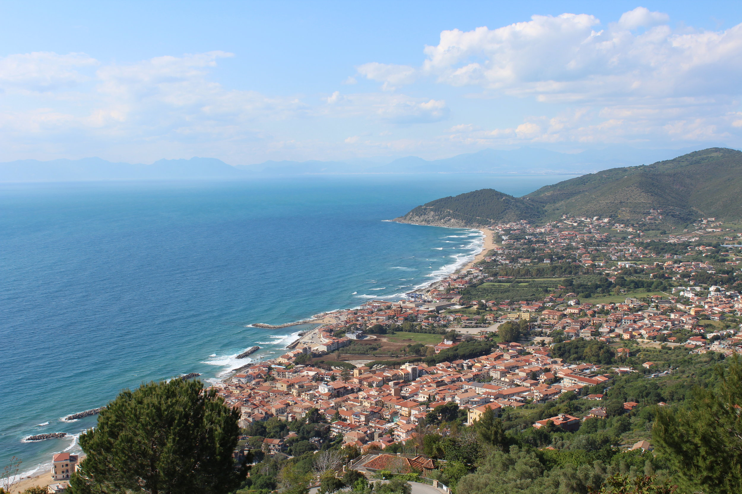 Cilento coast where Ancel Keys first wrote about the Mediterreanen Diet