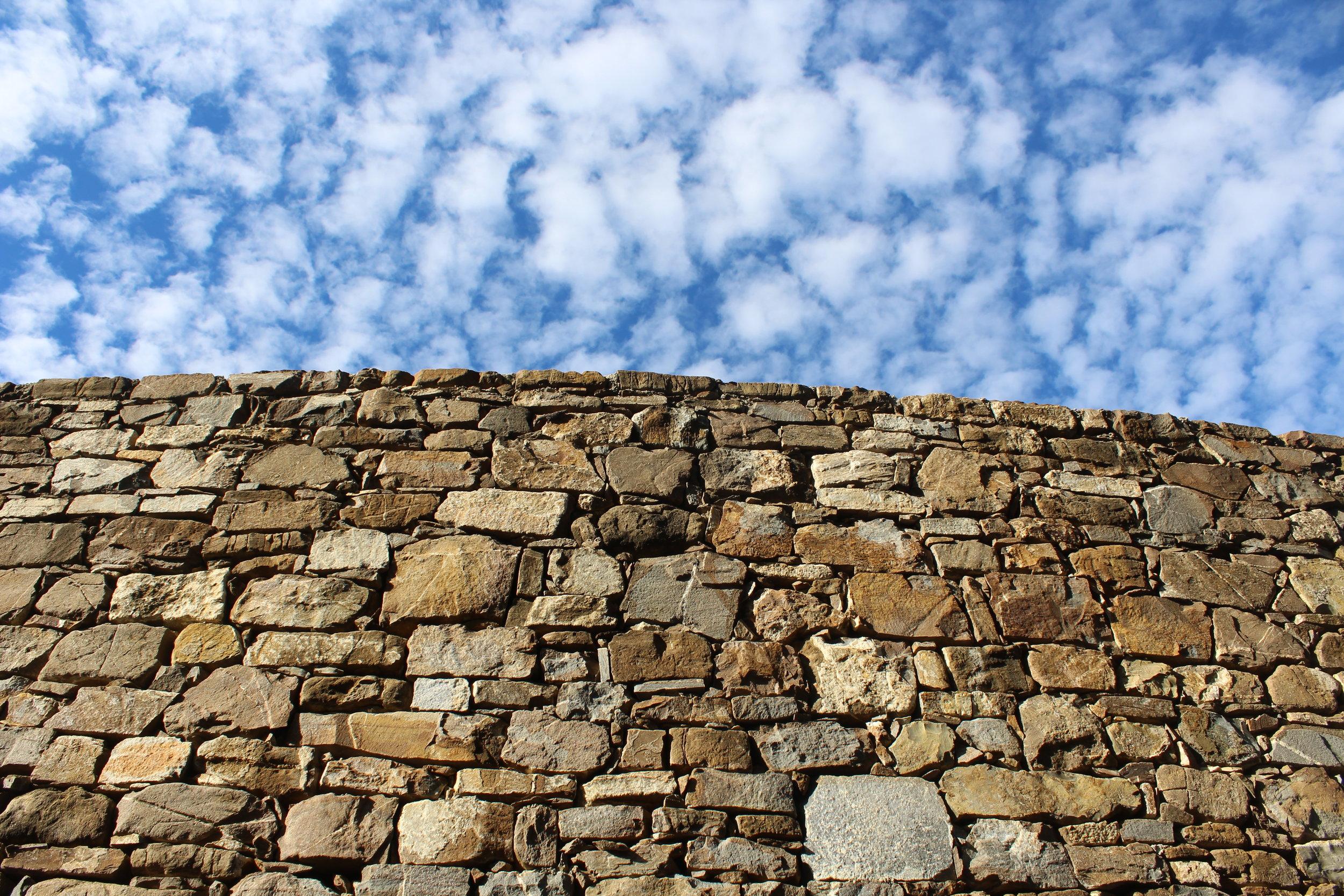 Each stone at Borgo La Pietraia was set by hand.
