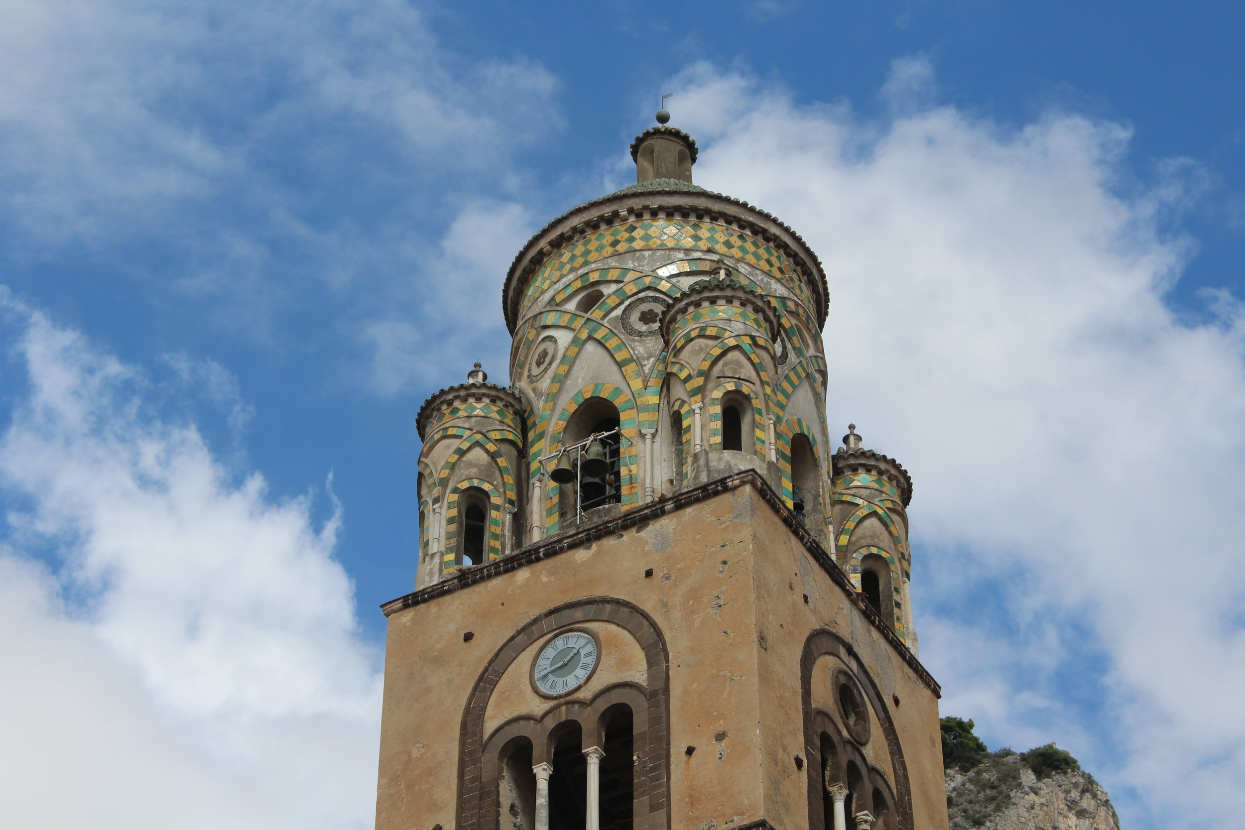 The Norman-Arab cathedral at Amalfi