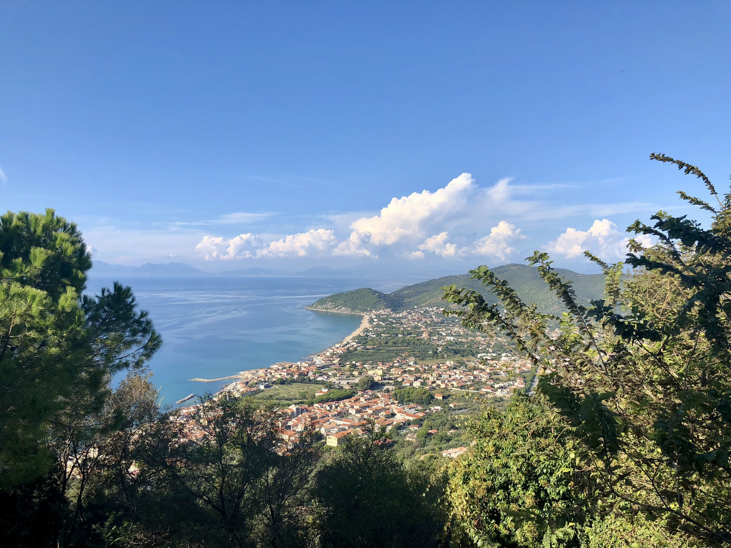 View of Cilento Coast
