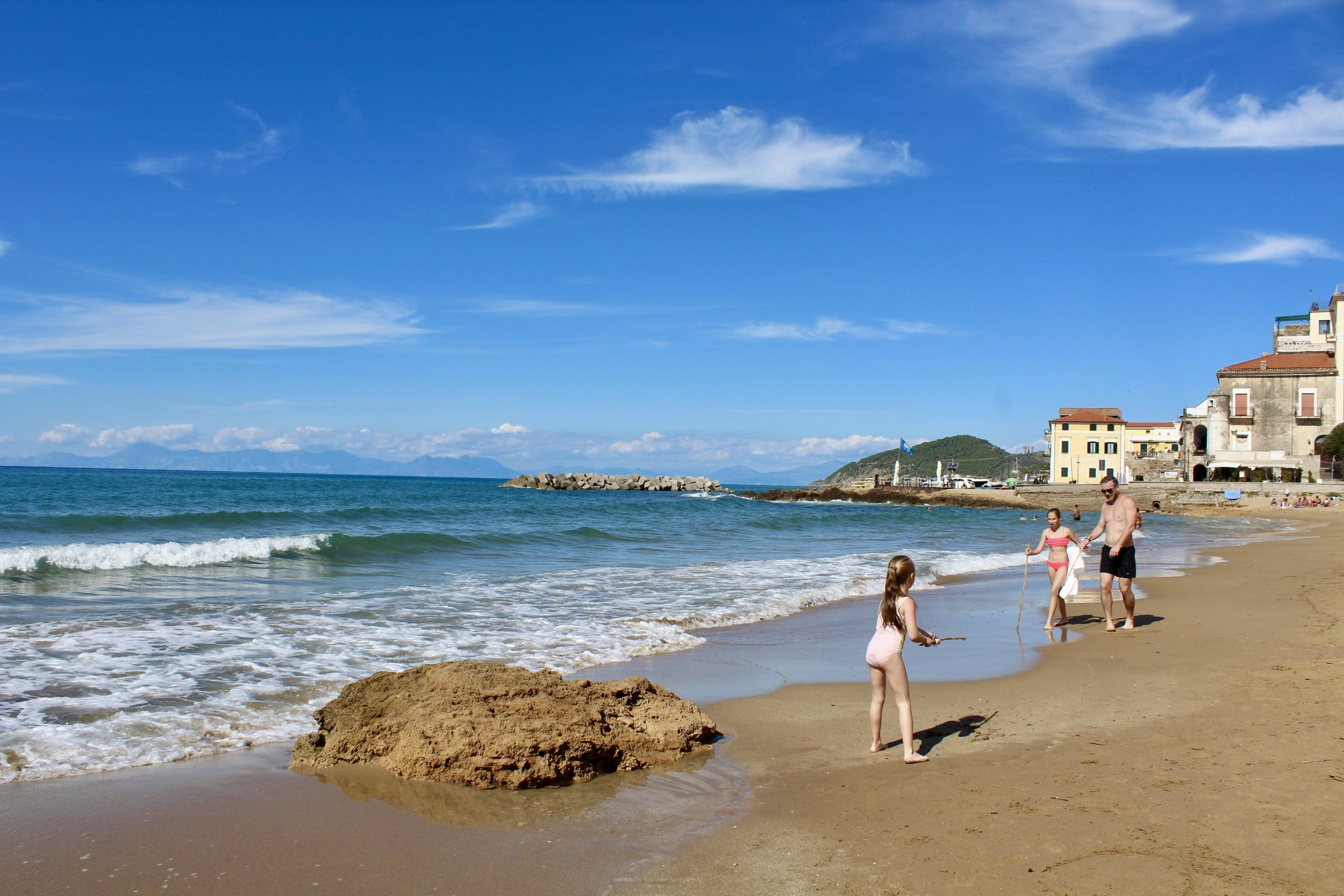 Beach at Castellabate, Cilento Coast