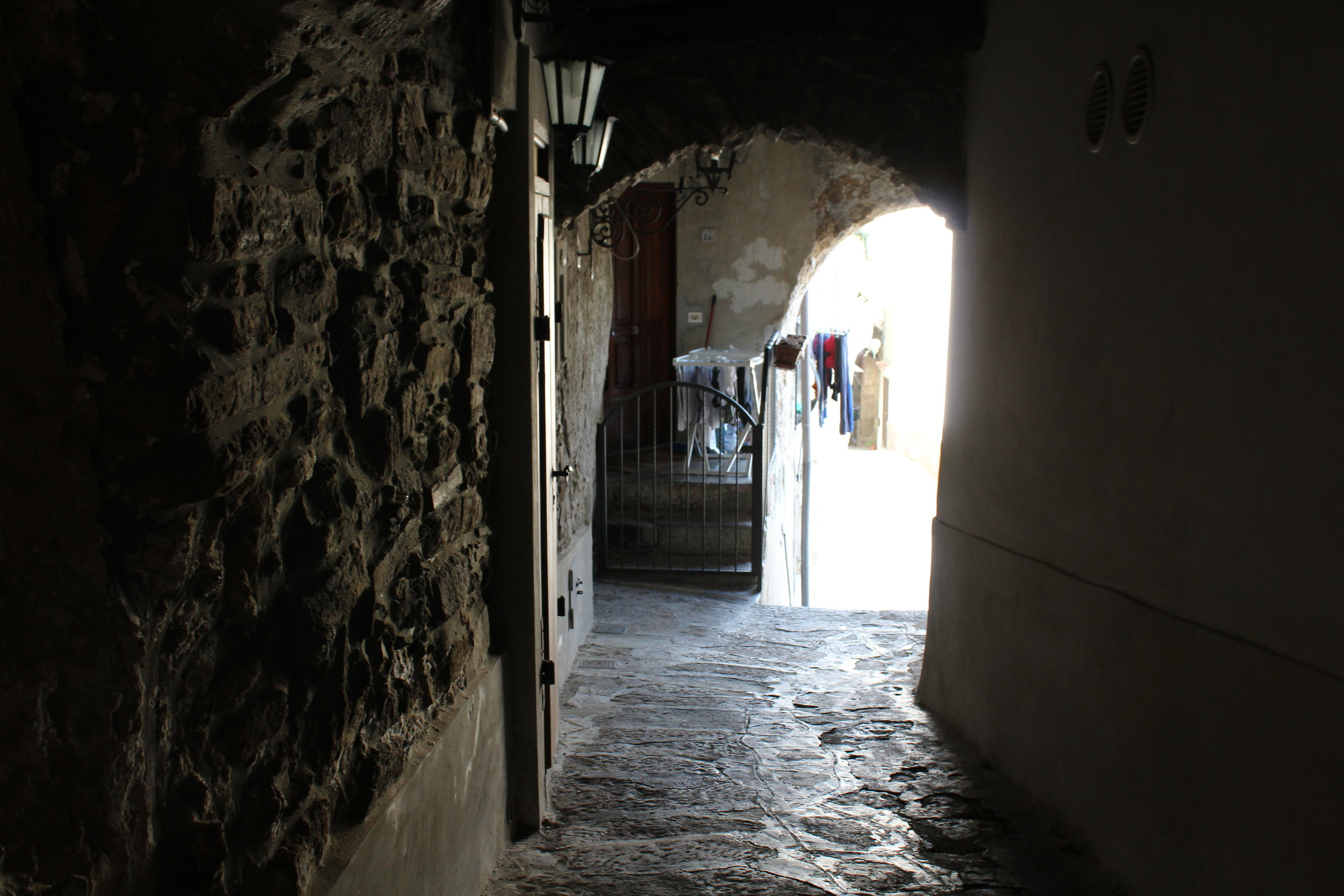 Alleys in Castellabate