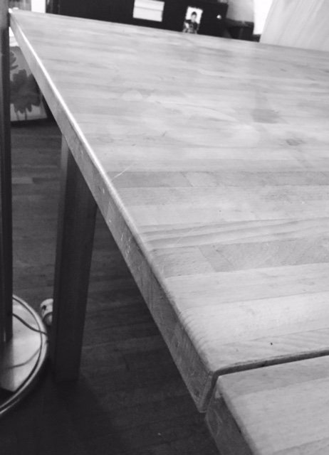 The Butcher Block Table