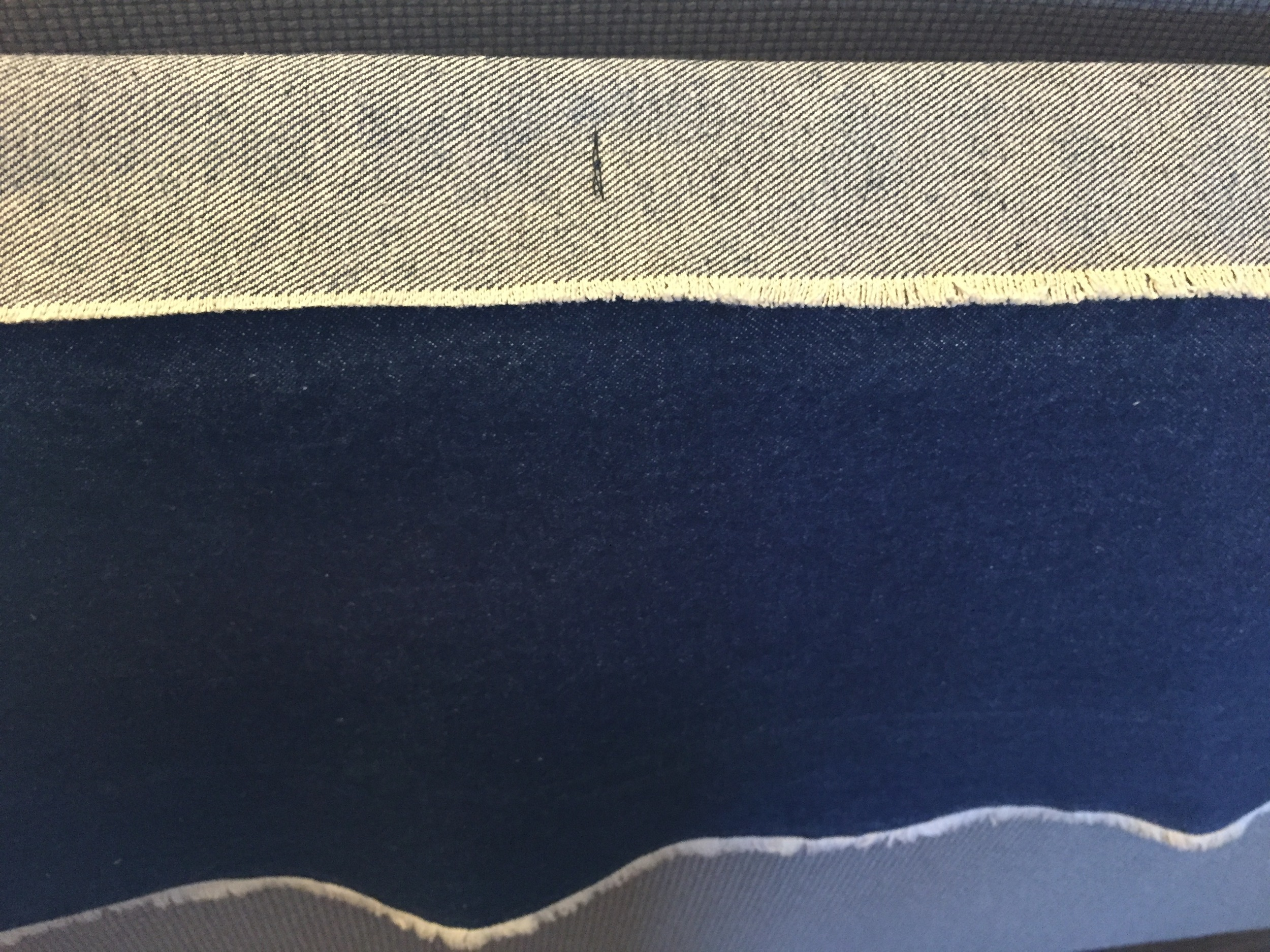 Double Faced Fabric Fold Over