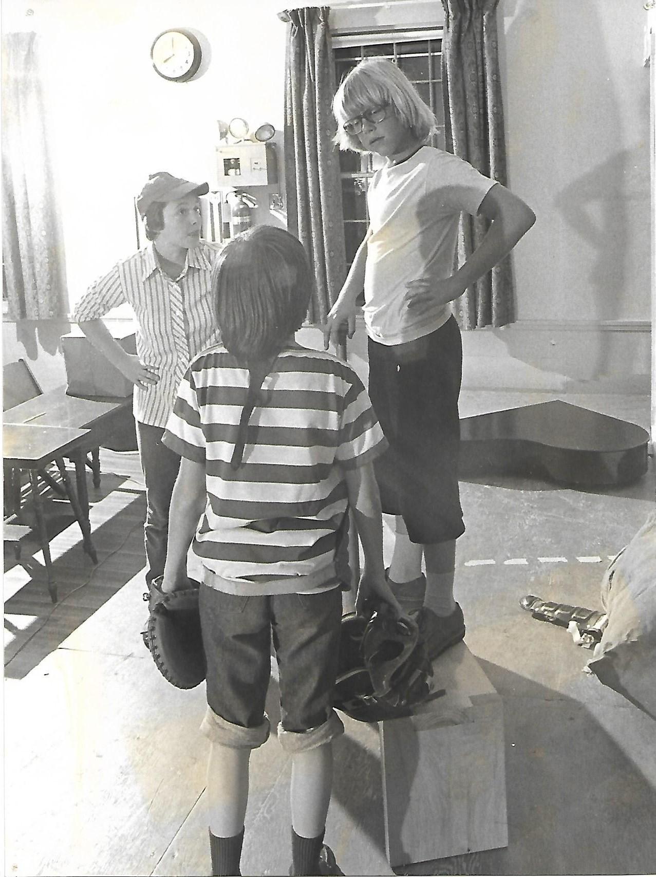 Gretchen Forsley (Patty), Ken McClelland (Schroeder), John Salera (Charlie Brown)