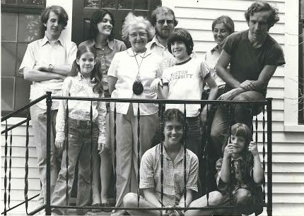 """Cast of """"Winterthing,"""" with director, Bill Williams"""