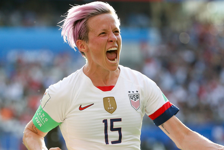Megan Rapinoe and the push for equal pay