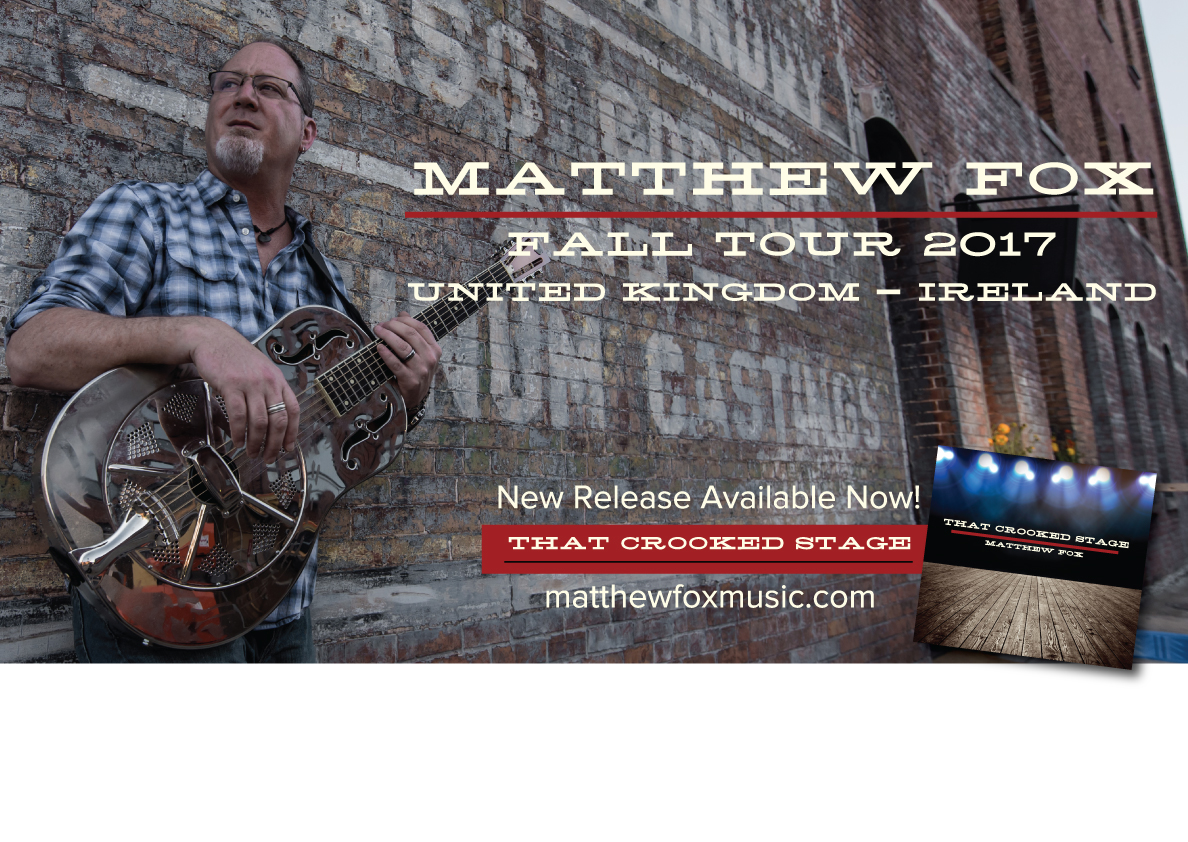 Fall tour dates for the United Kingdom and Ireland are available at the Reverbnation link below. See you there!!