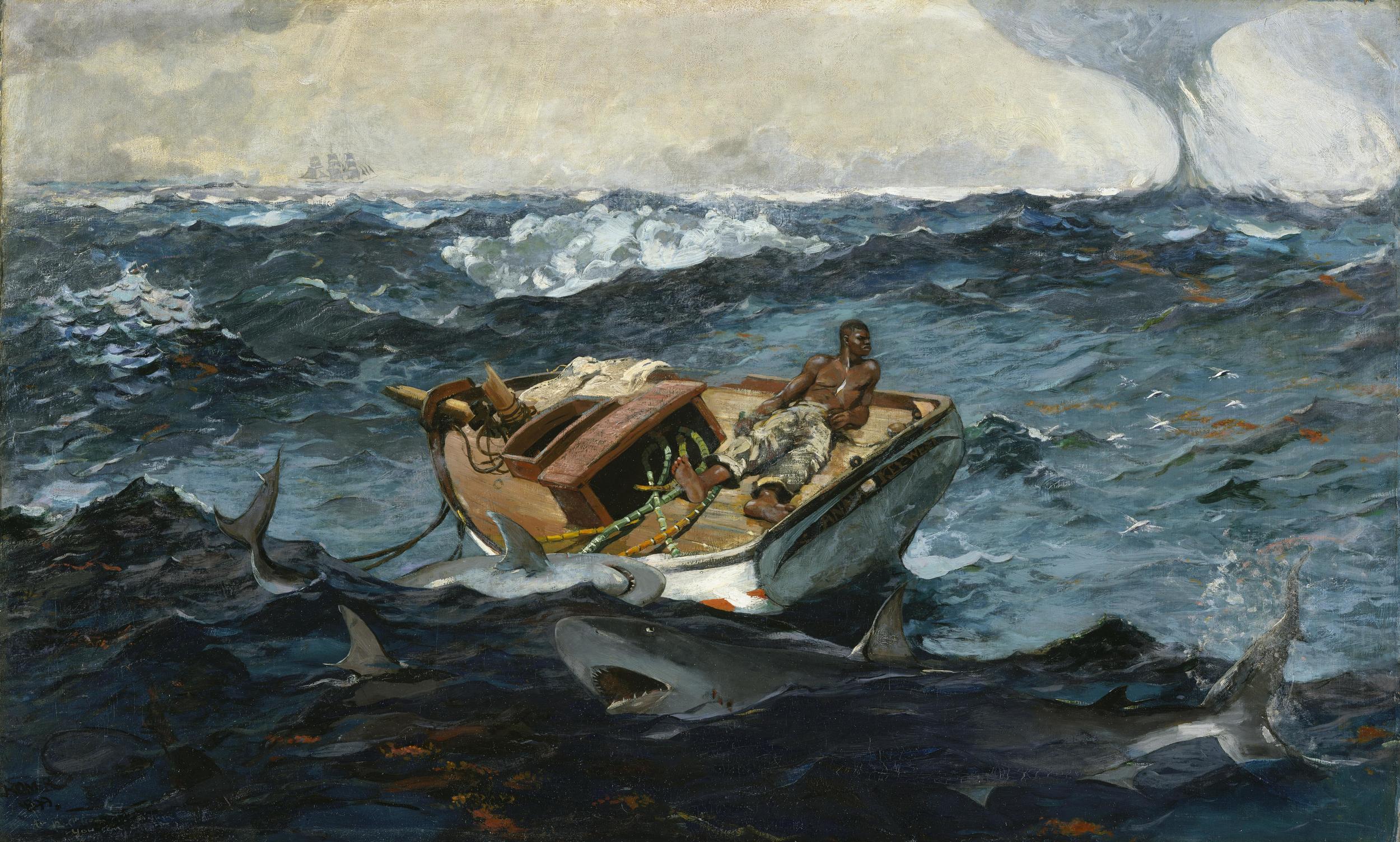 The Gulf Stream     by Winslow Homer