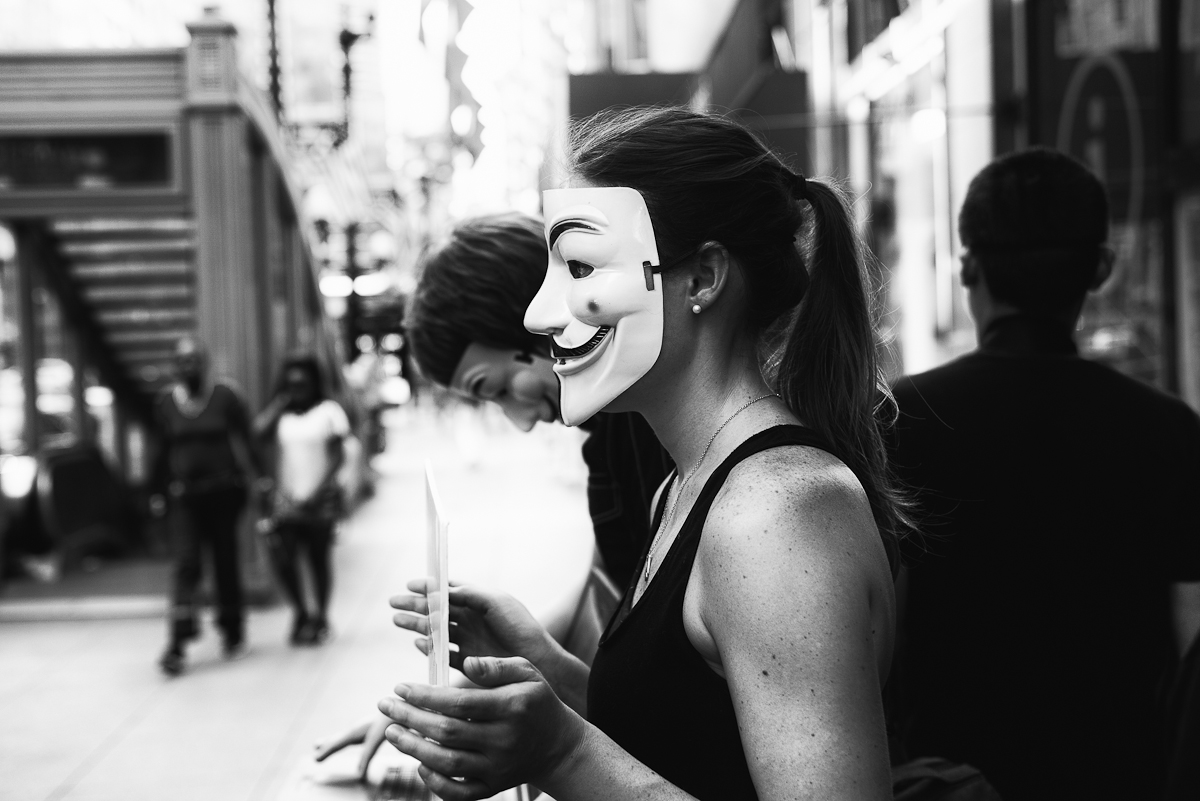 Anonymous for the Voiceless, Chicago, 2018